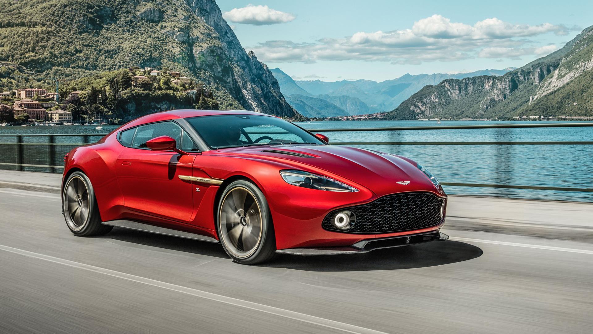 Aston Martin Vanquish Zagato concept, 2016 Concorso d'Eleganza Villa d'Este