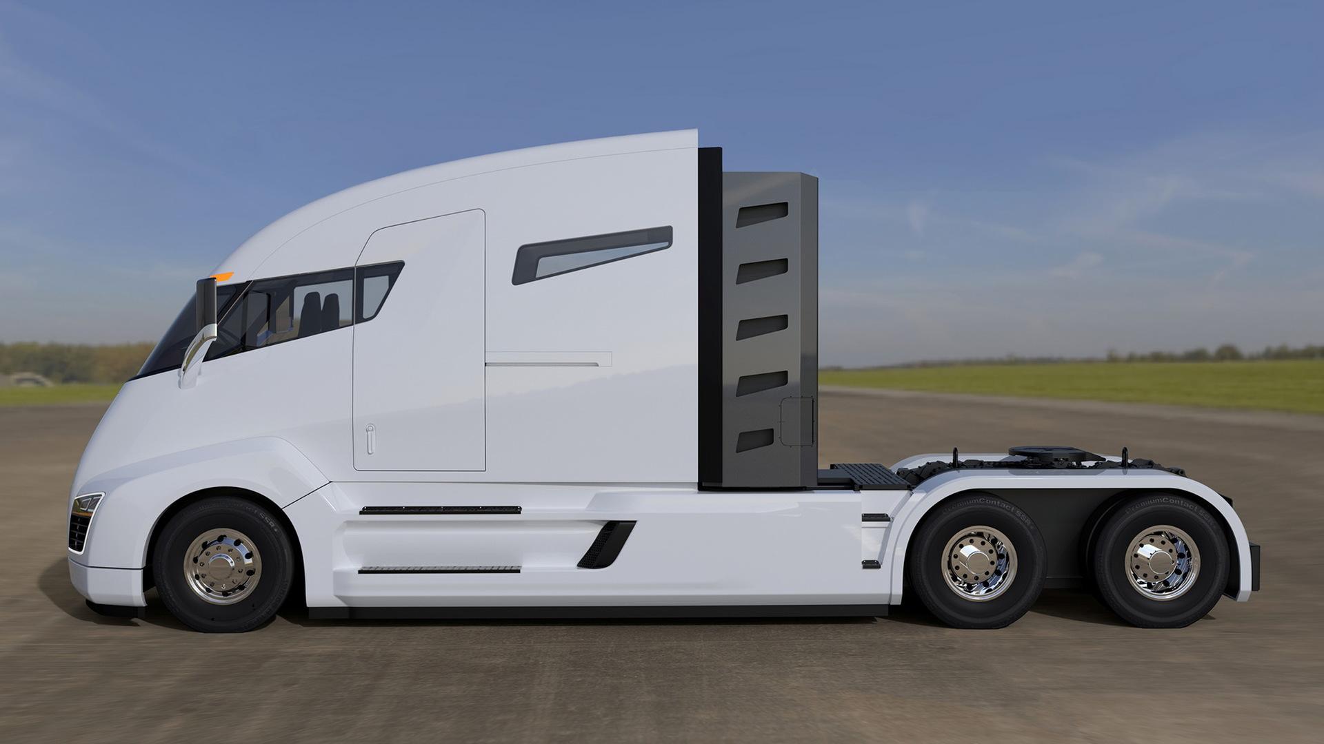 2,000-hp Nikola One electric truck racks up thousands of ...