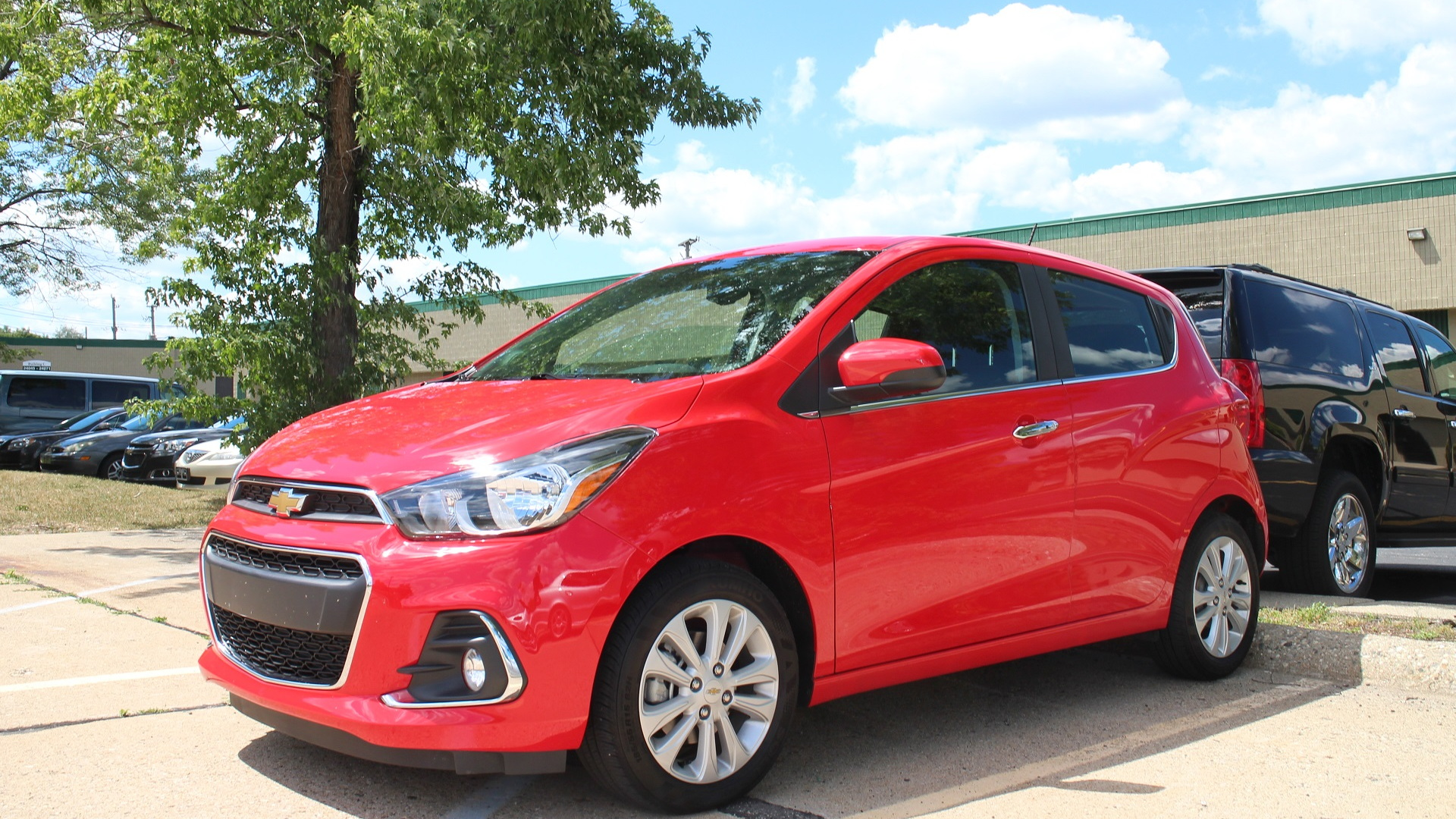 2016 Chevrolet Spark, test drive outside Detroit, July 2016