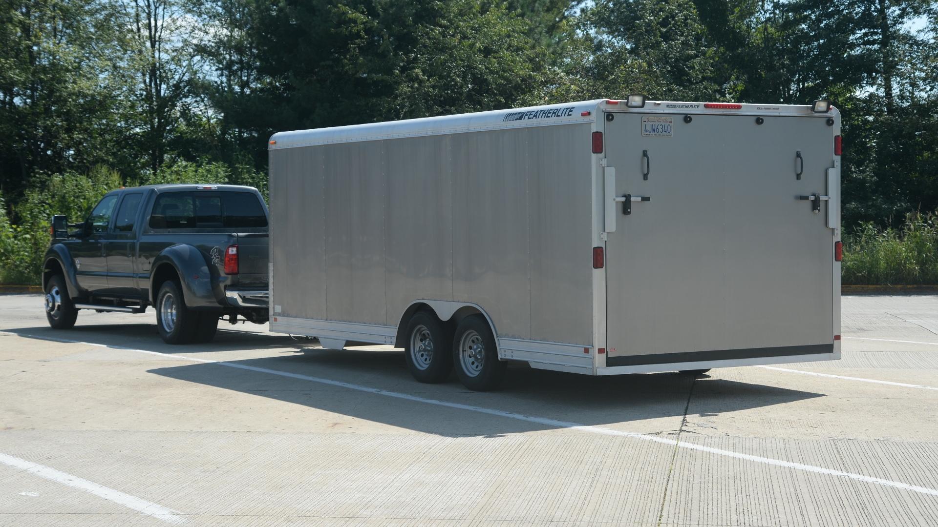 Lotus Eleven race car trailer