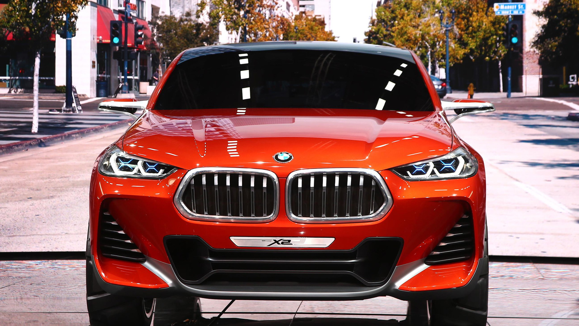 BMW X2 concept, 2016 Paris auto show