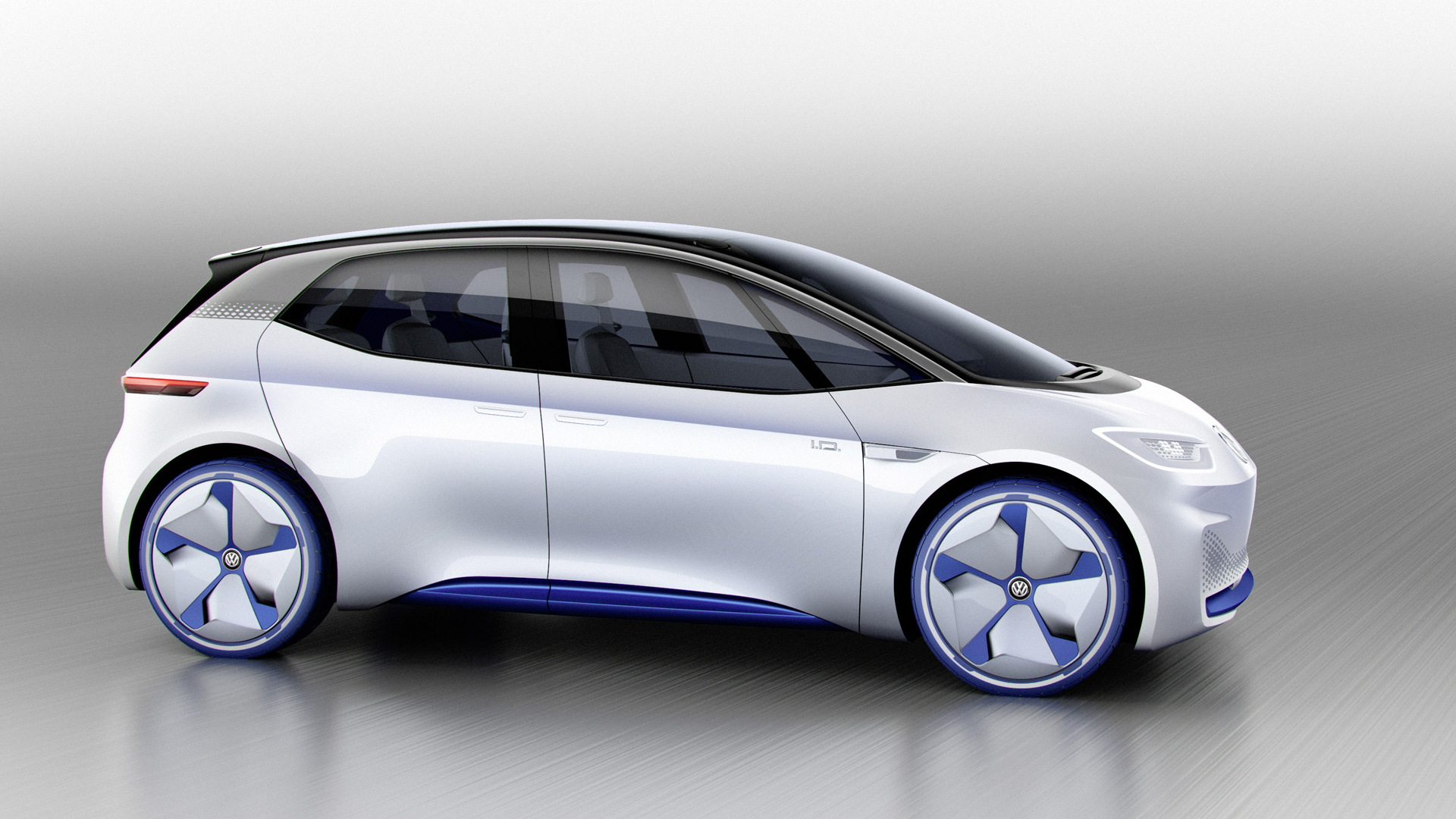 VW Shows Renderings Of ID Electric-car Concept For Paris