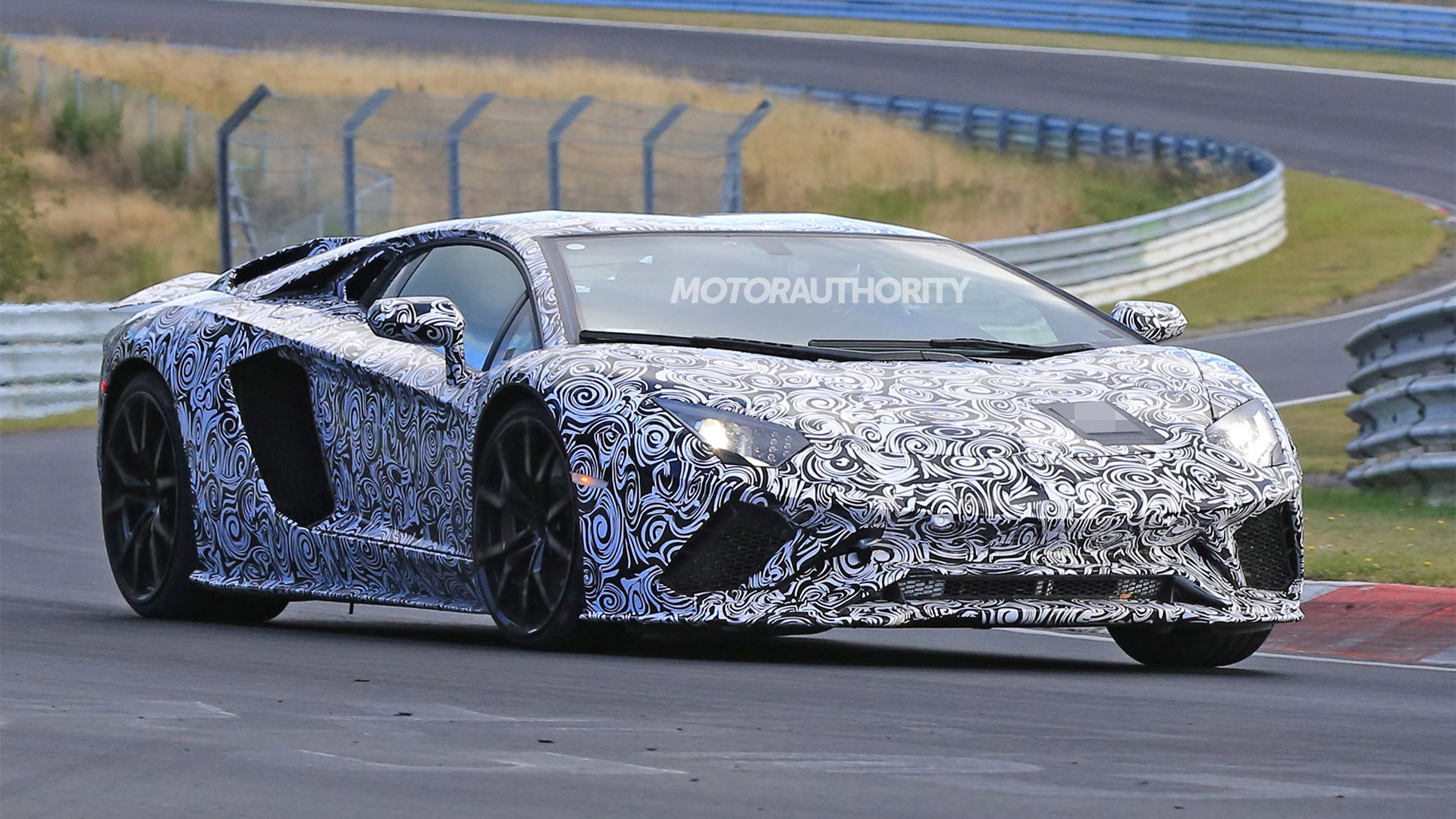 2018 Lamborghini Aventador Spy Shots And Video