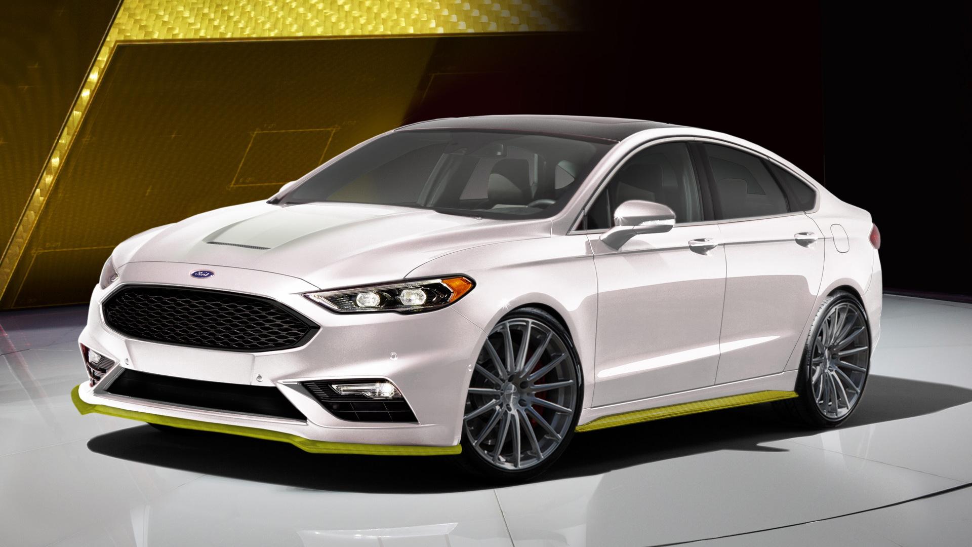 2017 Ford Fusion Sport Ballistic by Webasto Thermo & Comfort North America, 2016 SEMA show
