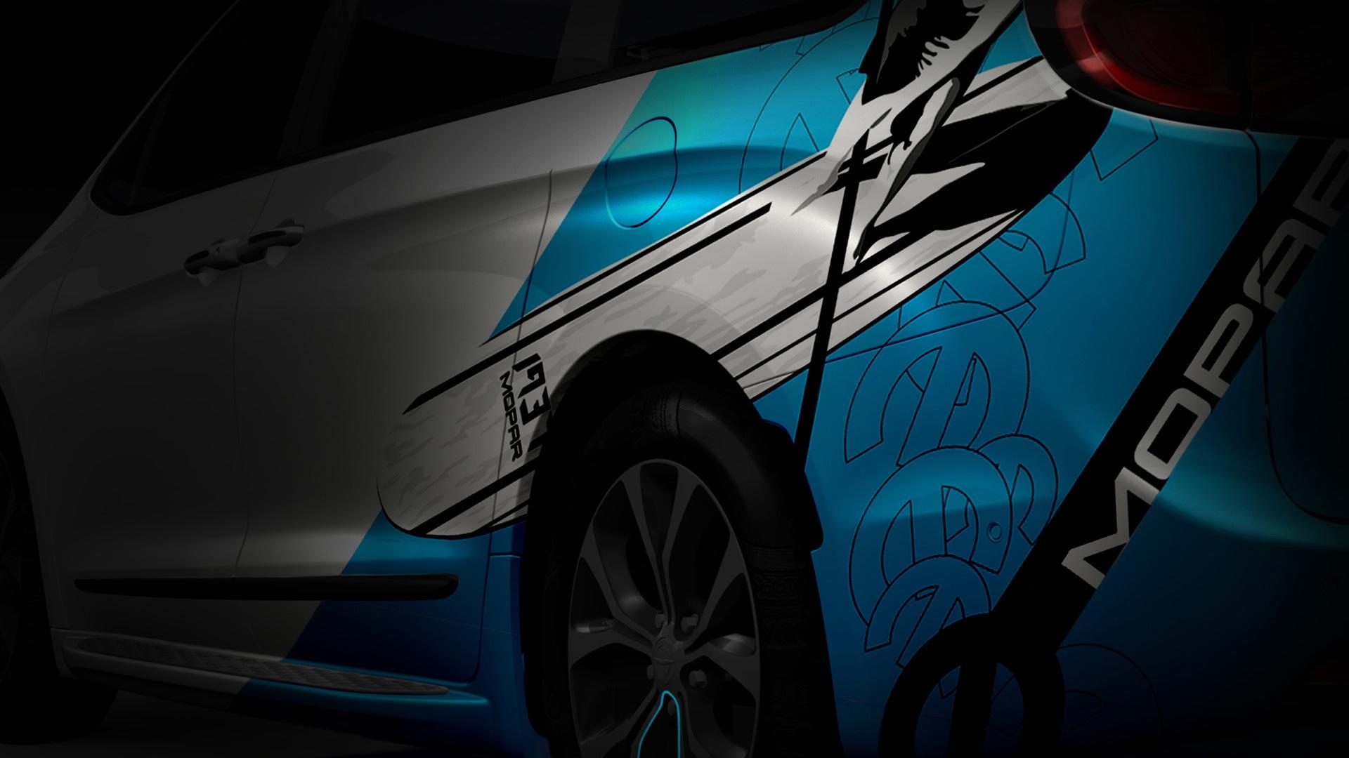 Chrysler Pacific Mopar concept, 2016 SEMA show