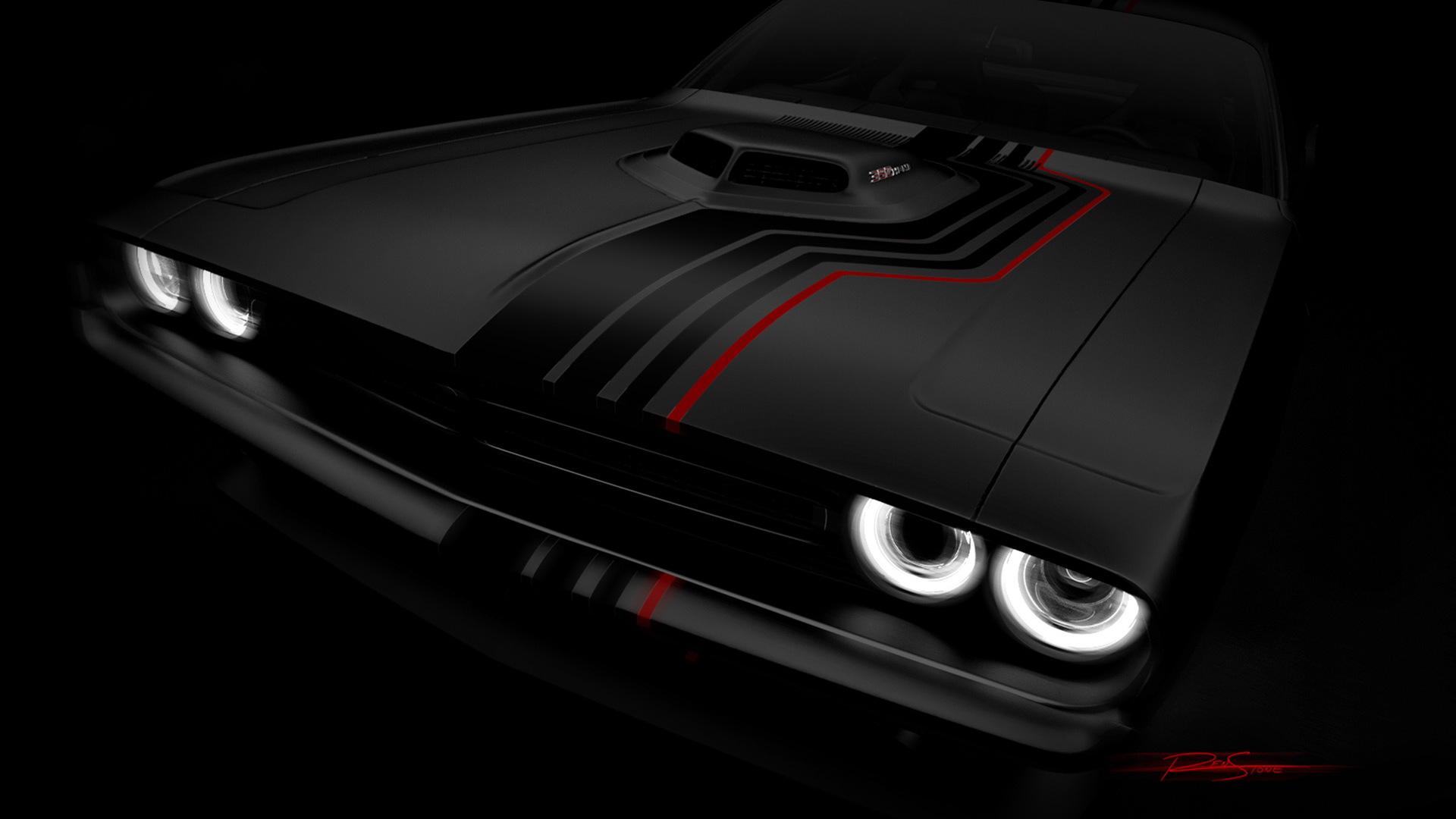 Dodge Challenger SRT 392 Mopar concept, 2016 SEMA show