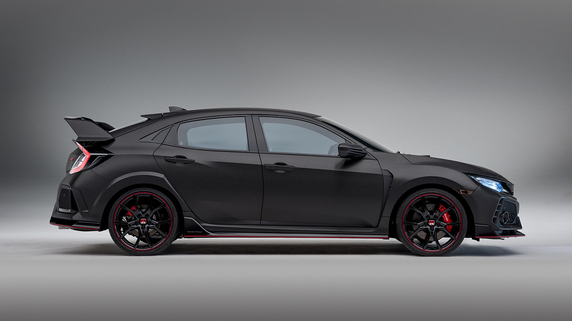 Honda Civic Type R Prototype, 2016 Paris auto show