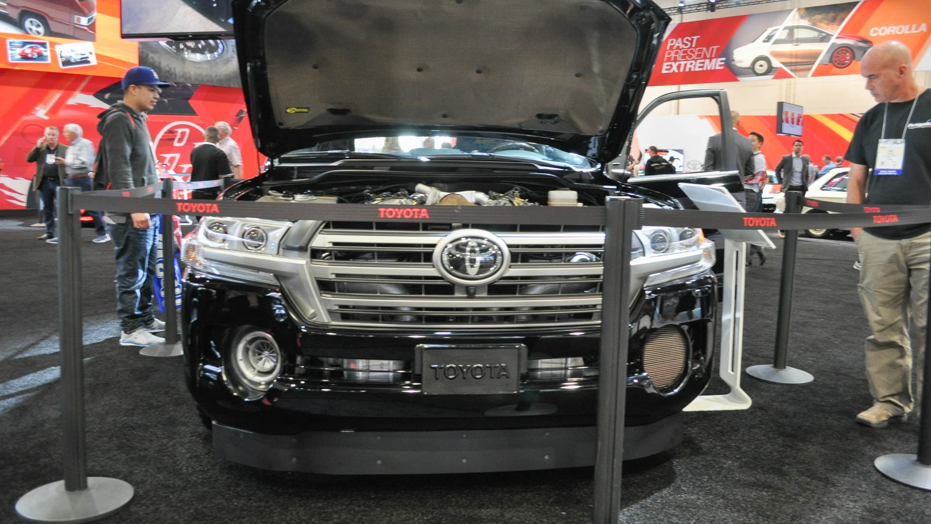 Toyota Land Speed Cruiser, 2016 SEMA