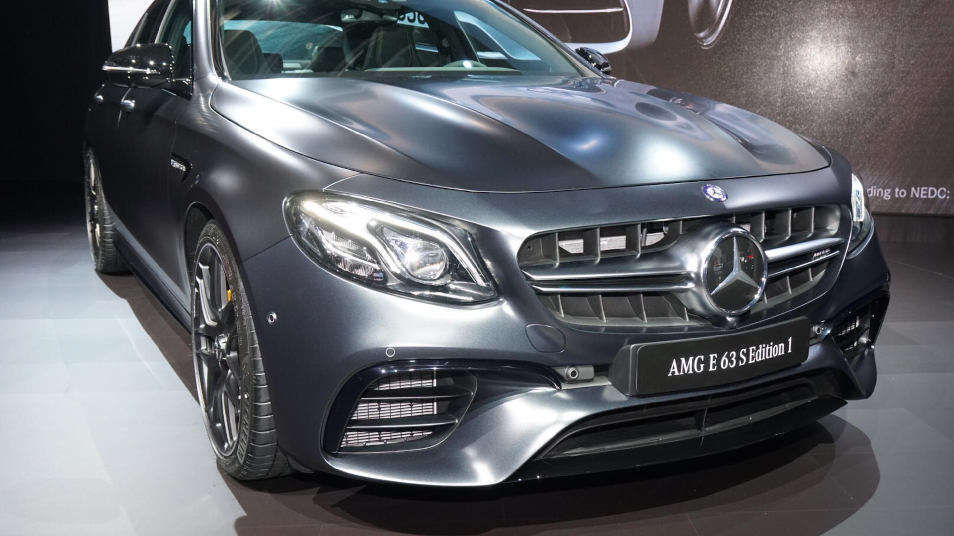 2017 Mercedes-Benz E63 AMG