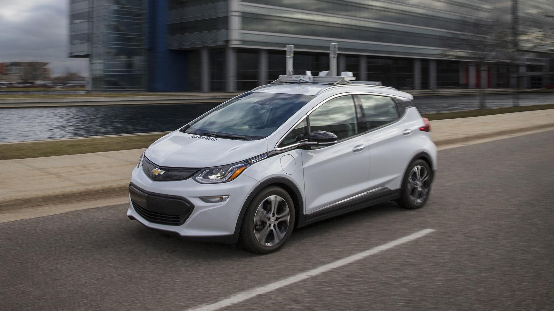 Chevrolet Bolt EV self-driving prototype