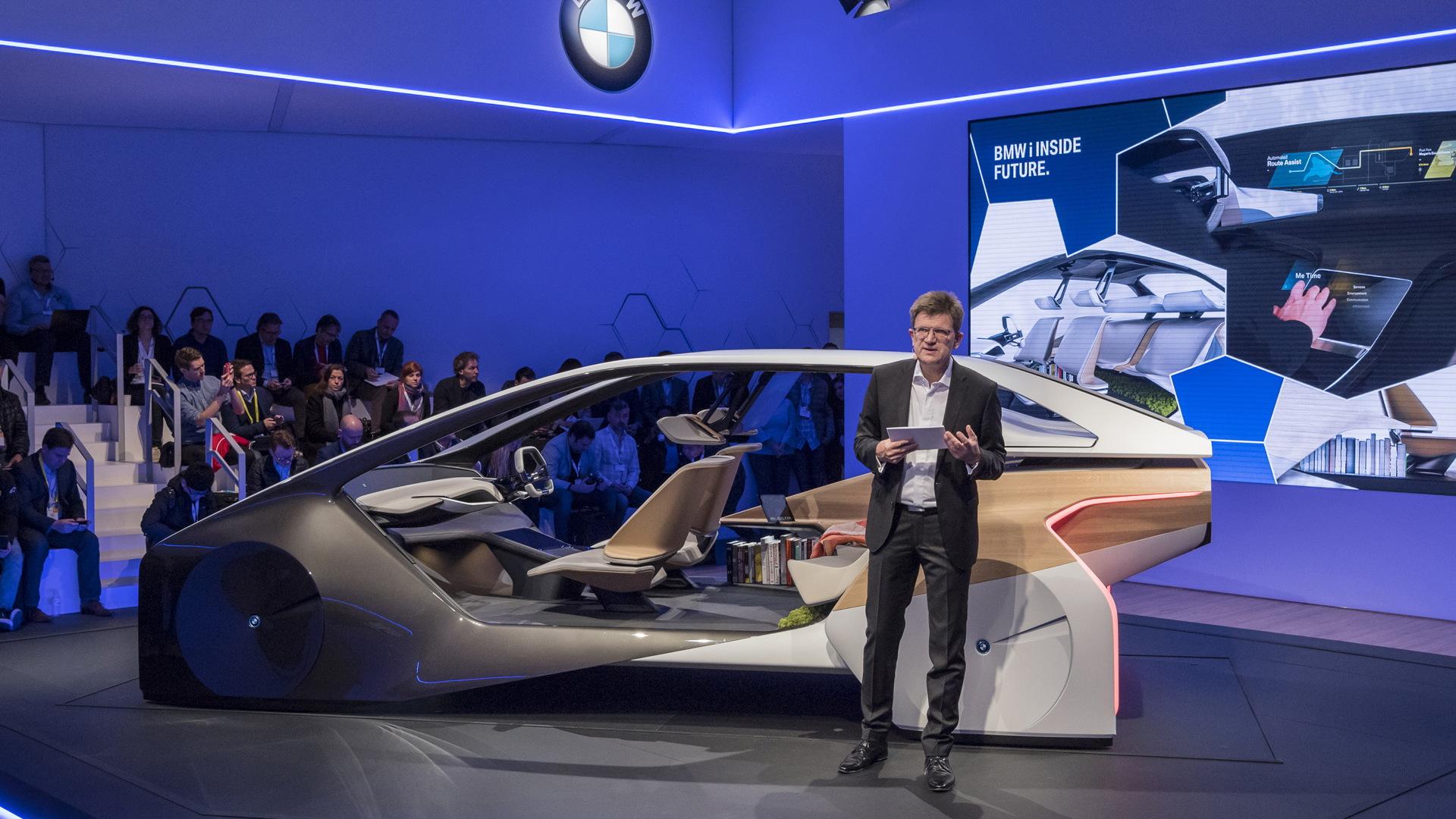 BMW i Inside Future concept, 2017 Consumer Electronics Show