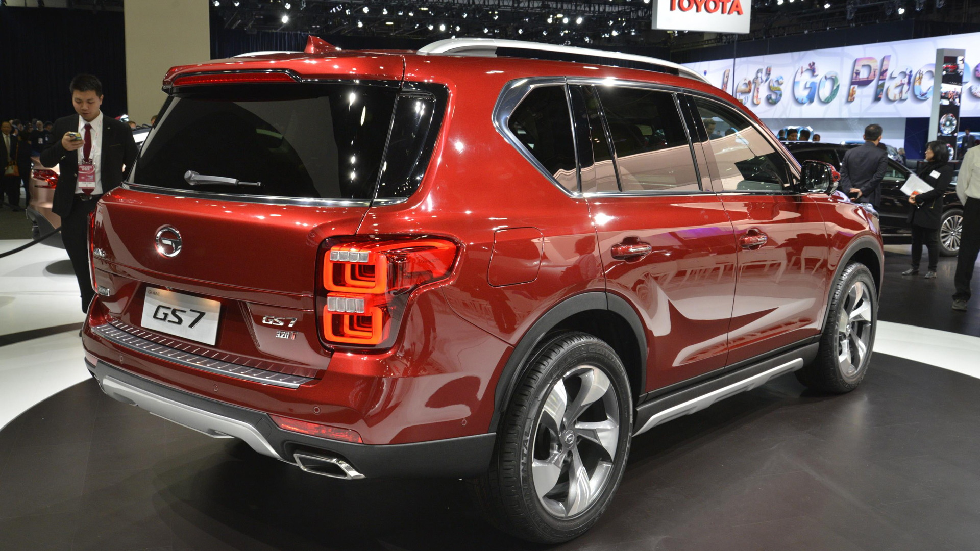 Trumpchi GS7, 2017 Detroit auto show