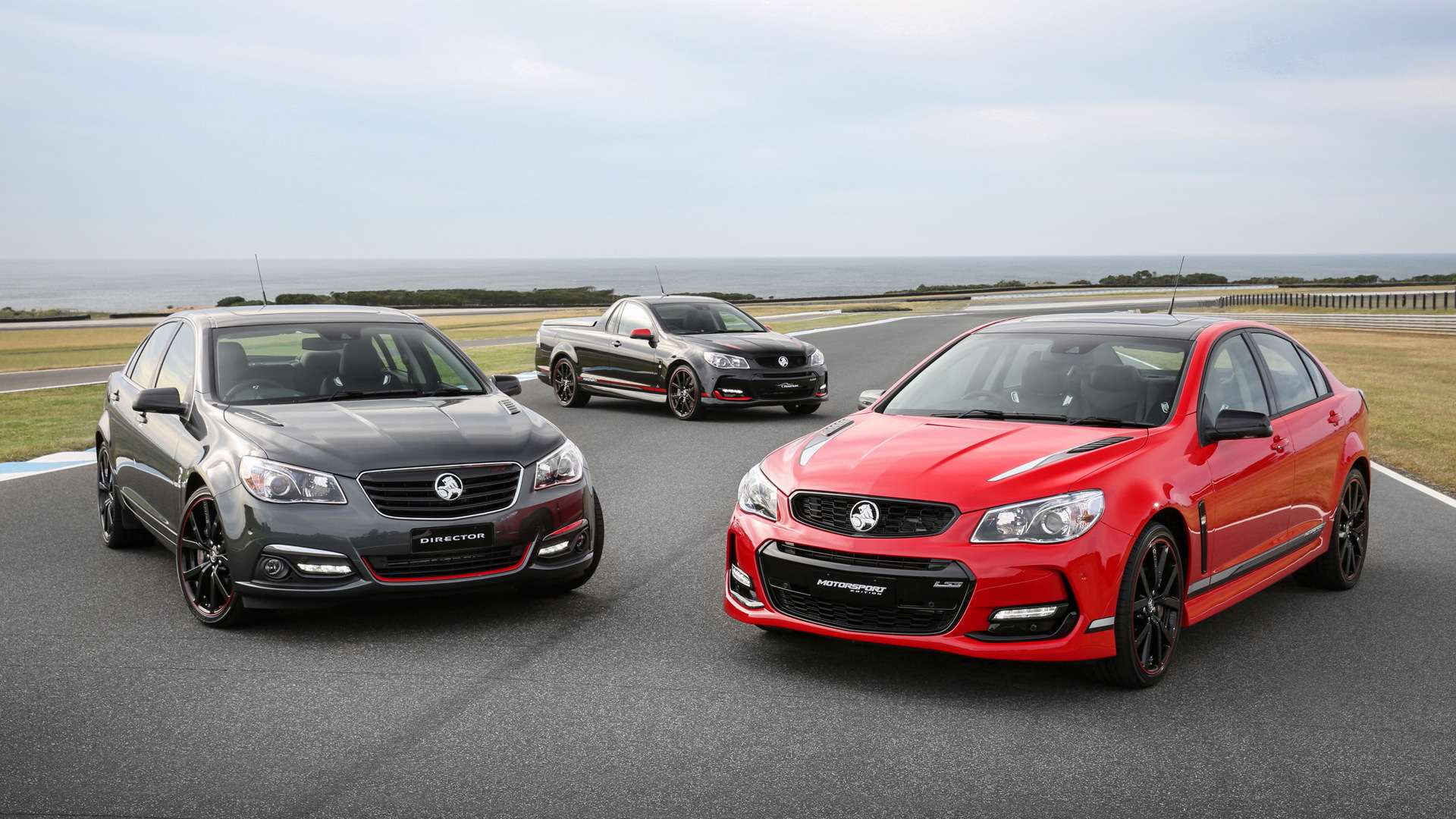 2017 Holden Commodore Motorsport, Director and Magnum special editions