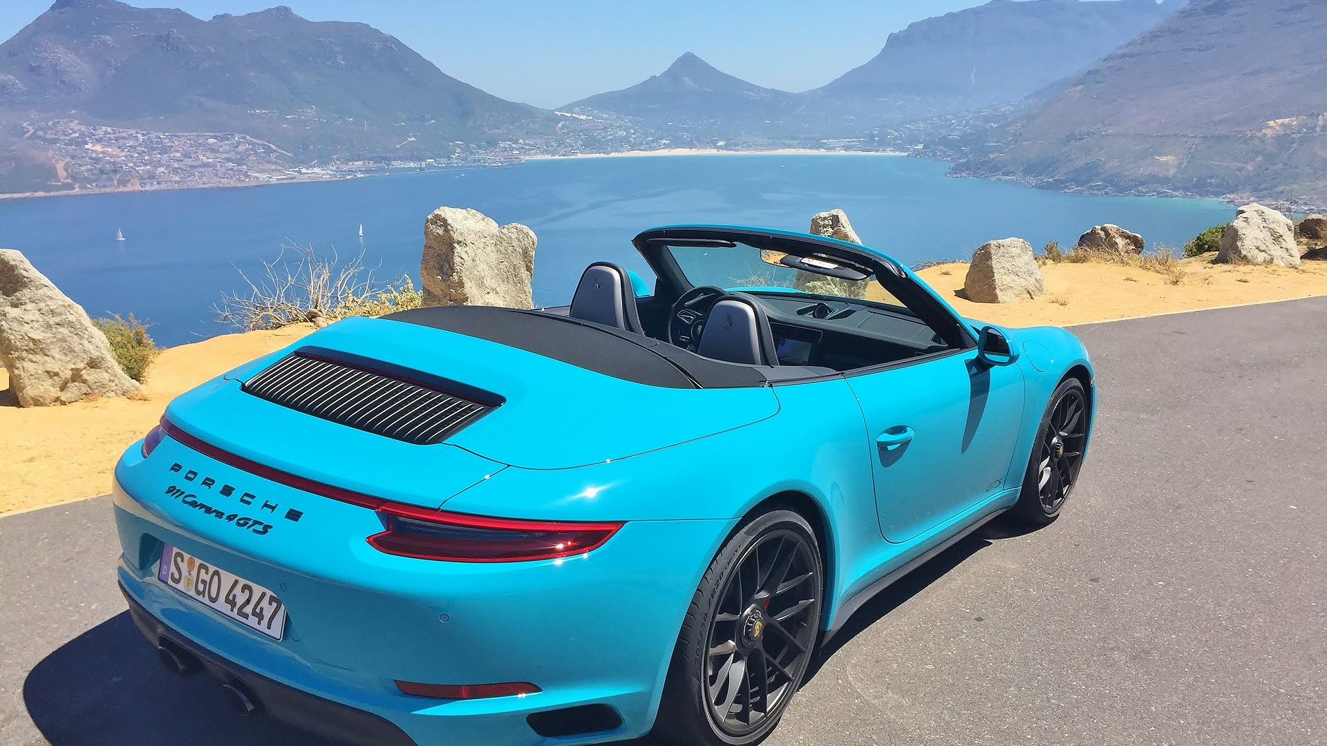 2017 Porsche 911 Carrera GTS Media Drive, Cape Town, South Africa, January 2017