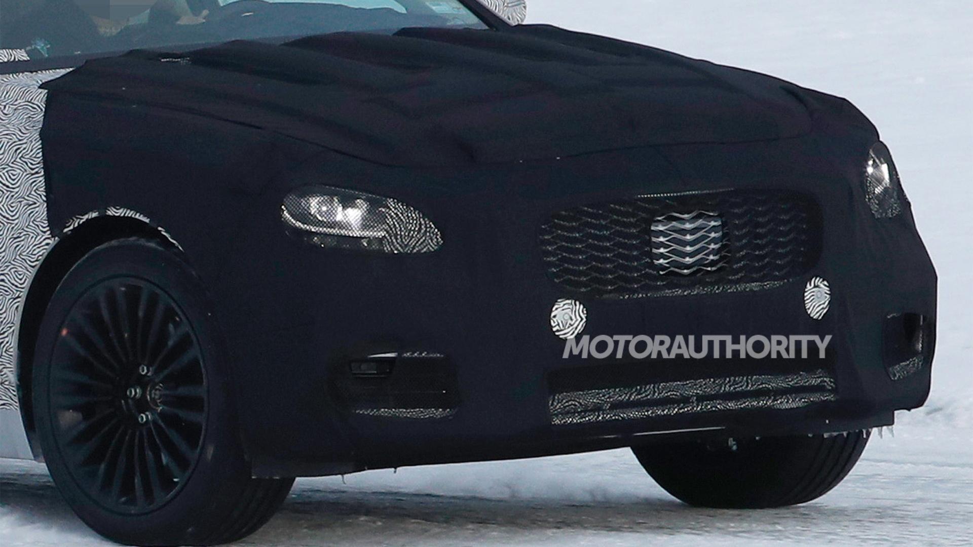 2019 Kia K900 spy shots - Image via S. Baldauf/SB-Medien