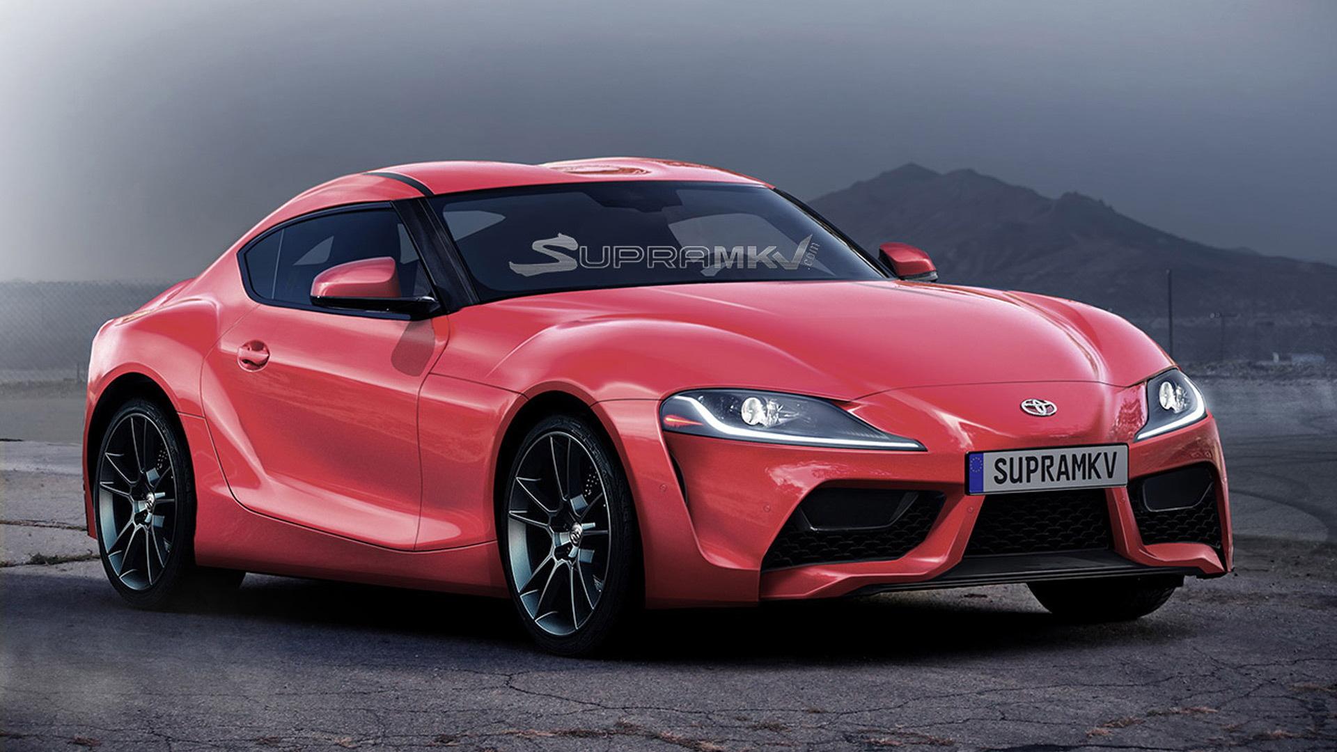 2020 Toyota Supra rendering - Image via SupraMkV