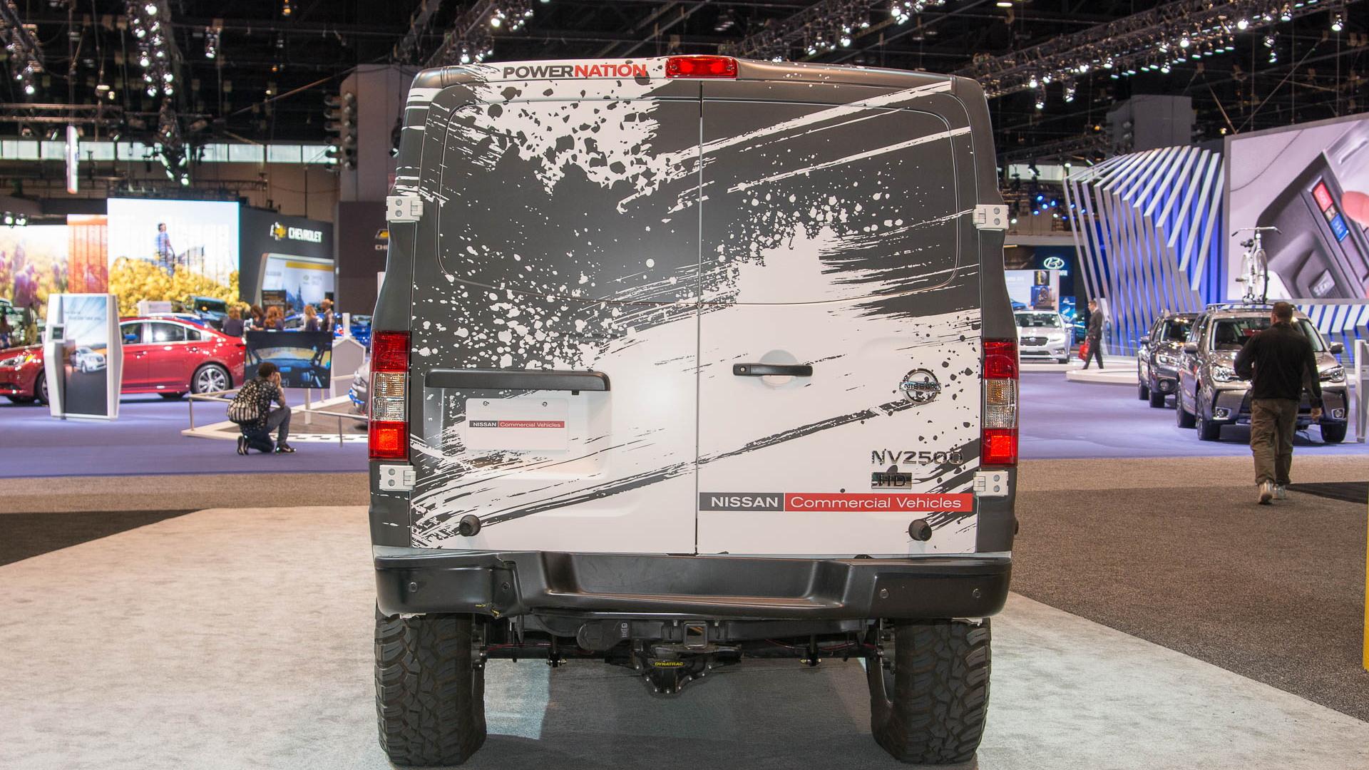 Nissan NV Cargo X, 2017 Chicago auto show