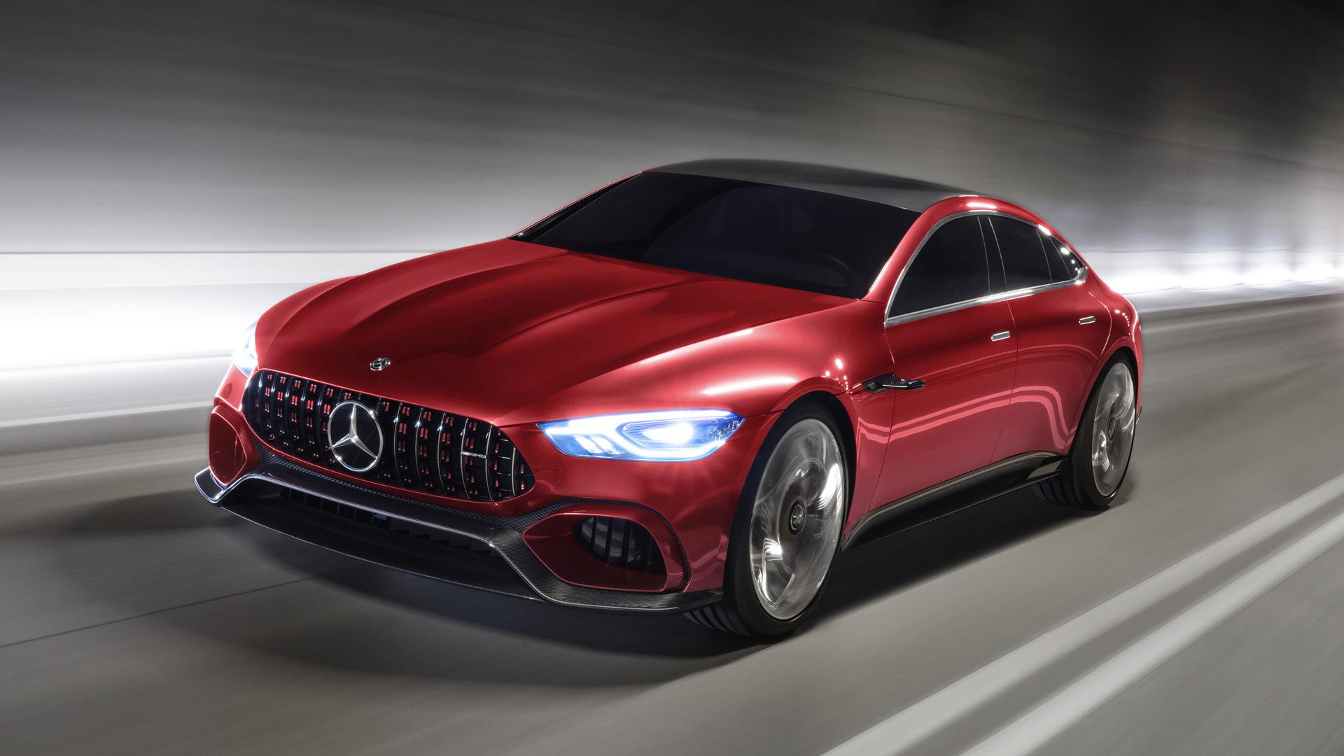 Mercedes-AMG GT concept, 2017 Geneva auto show