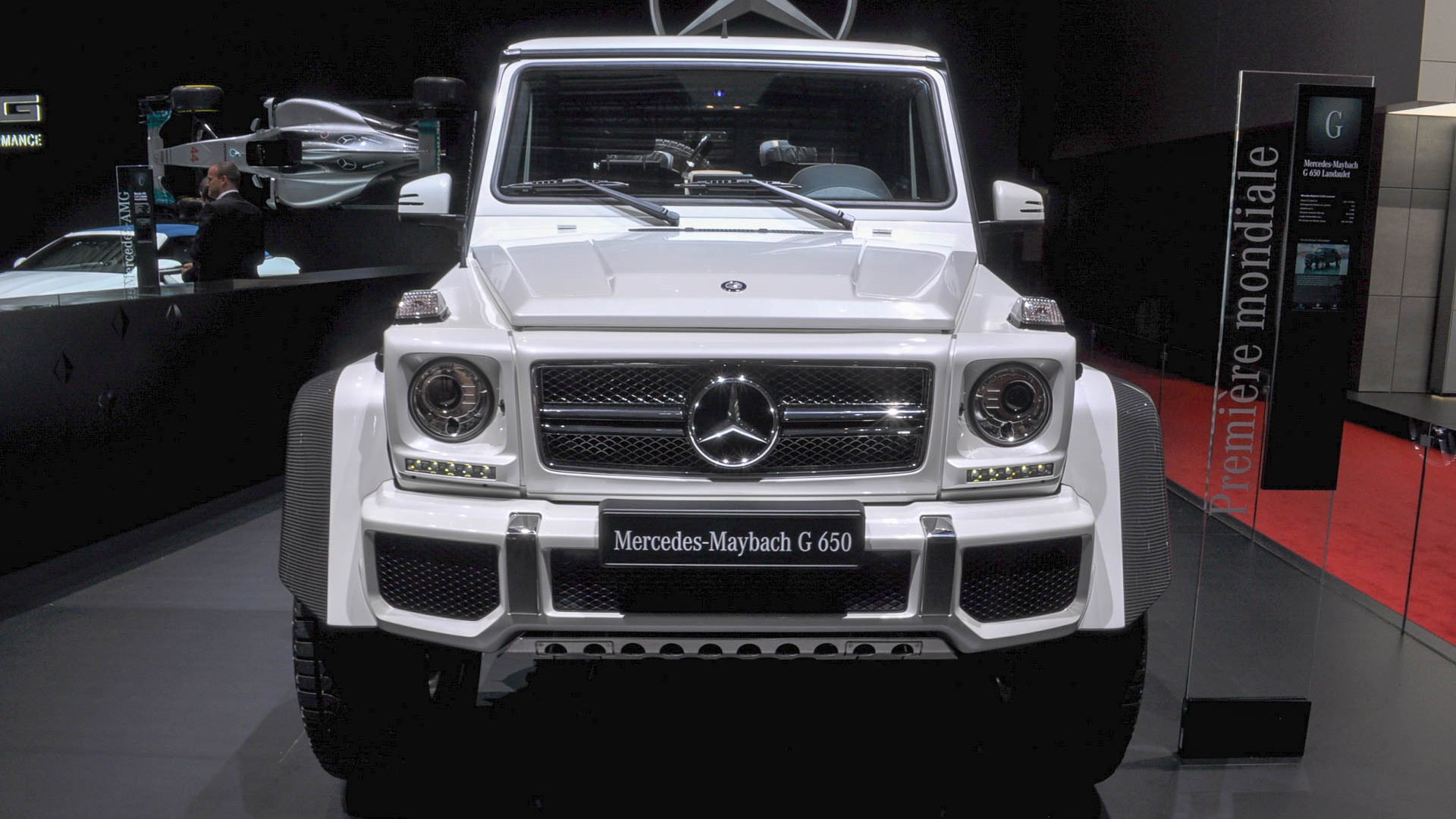 Mercedes-Maybach G650 Landaulet, 2017 Geneva auto show