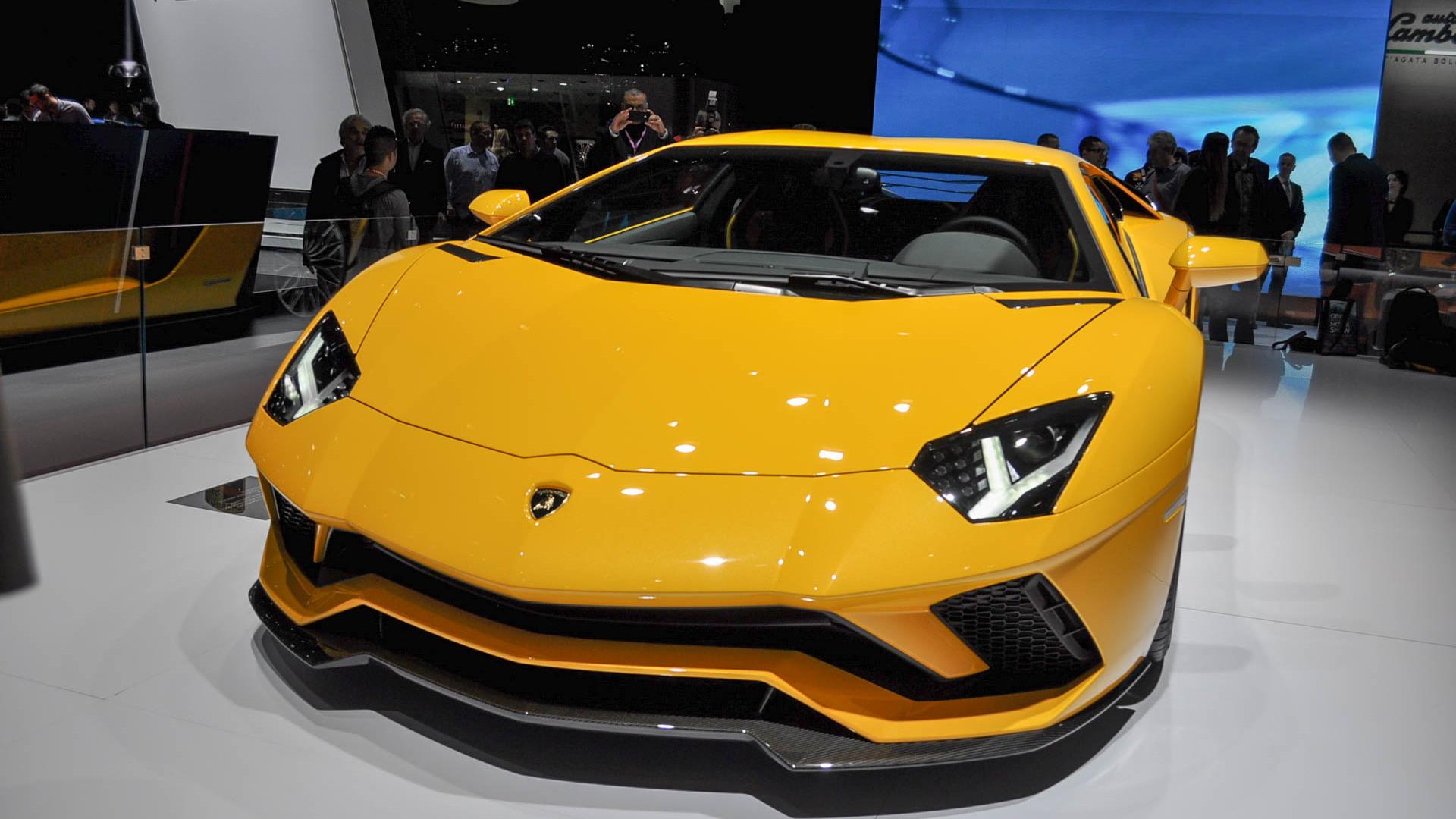 Lamborghini Aventador S, 2017 Geneva auto show