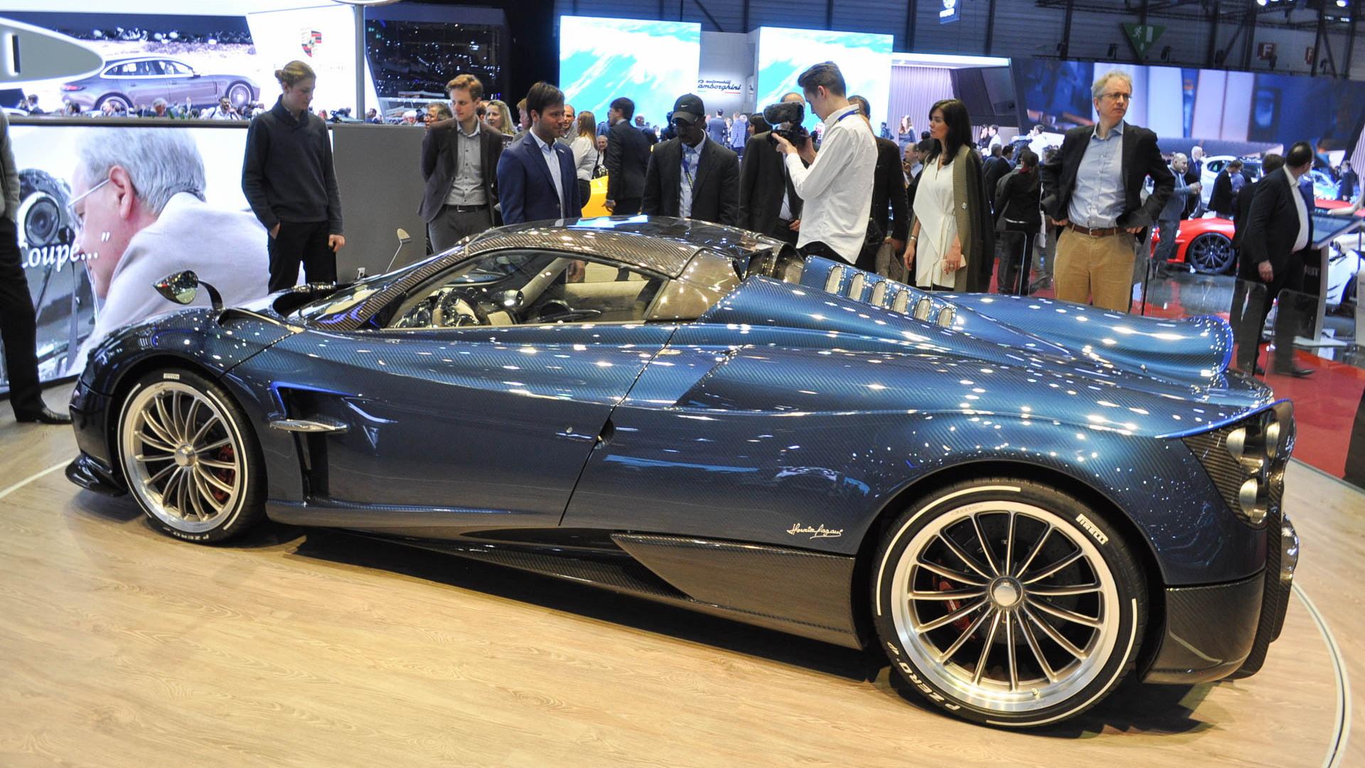Pagani Huayra Roadster, 2017 Geneva auto show