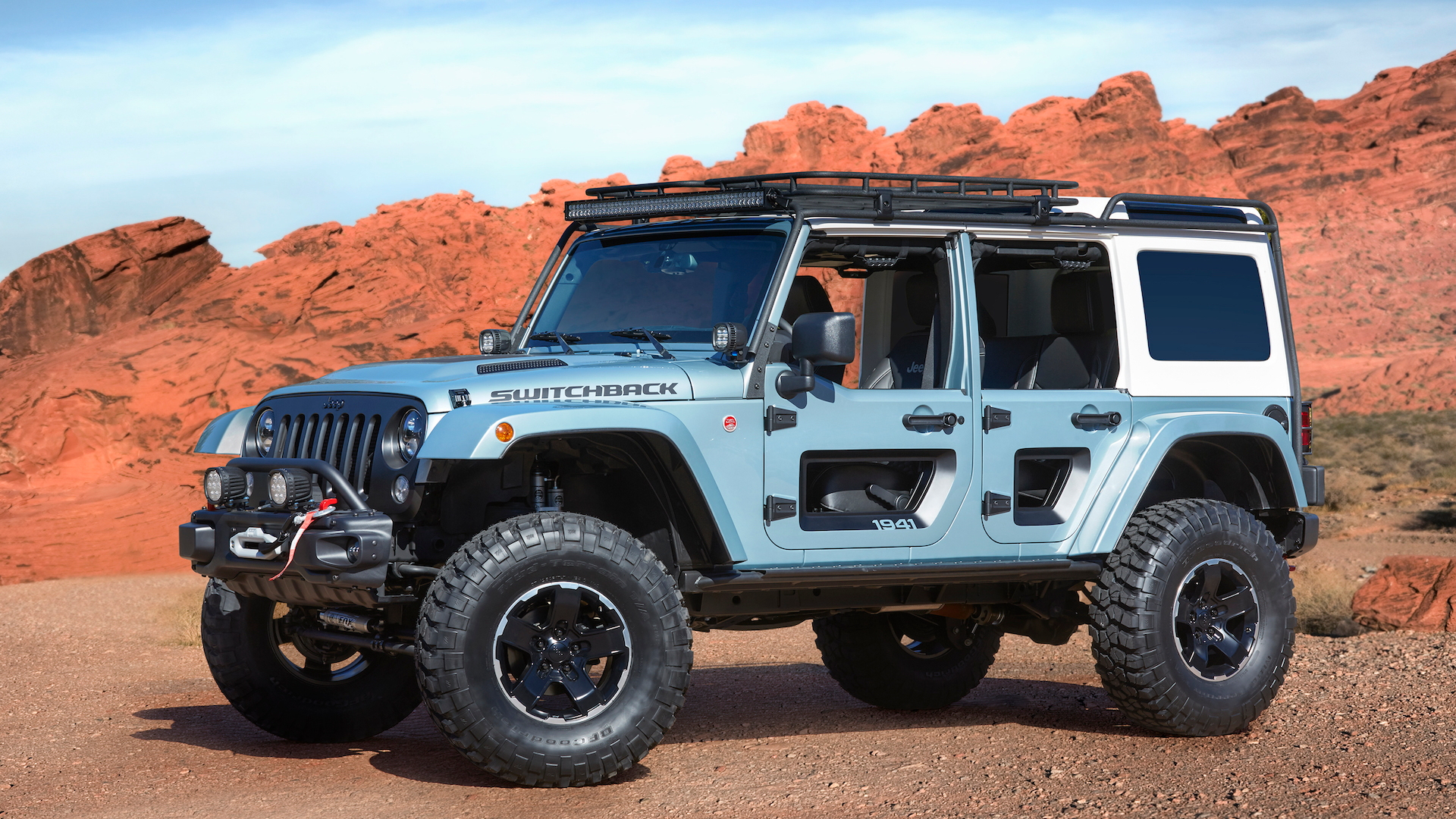 Jeep Switchback for Moab Easter Jeep Safari, 2017