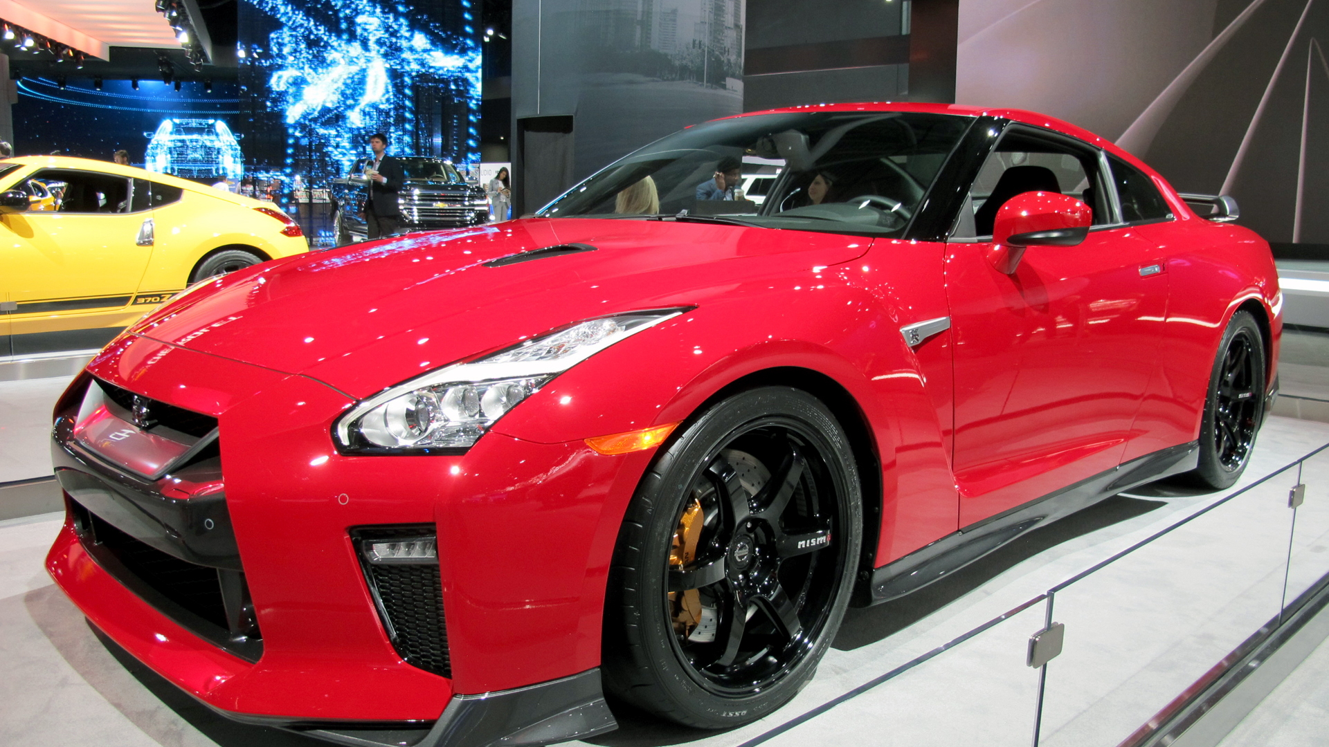 2017 Nissan GT-R Track Edition, 2017 New York auto show