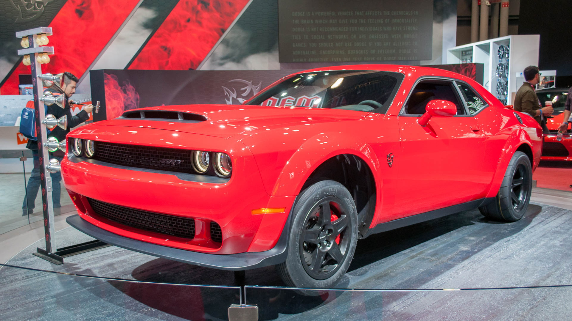 2018 Dodge Challenger SRT Demon, 2017 New York auto show