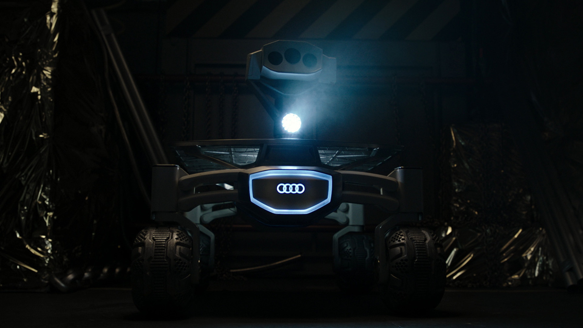 Audi Lunar Quattro featured in 'Alien: Covenant'