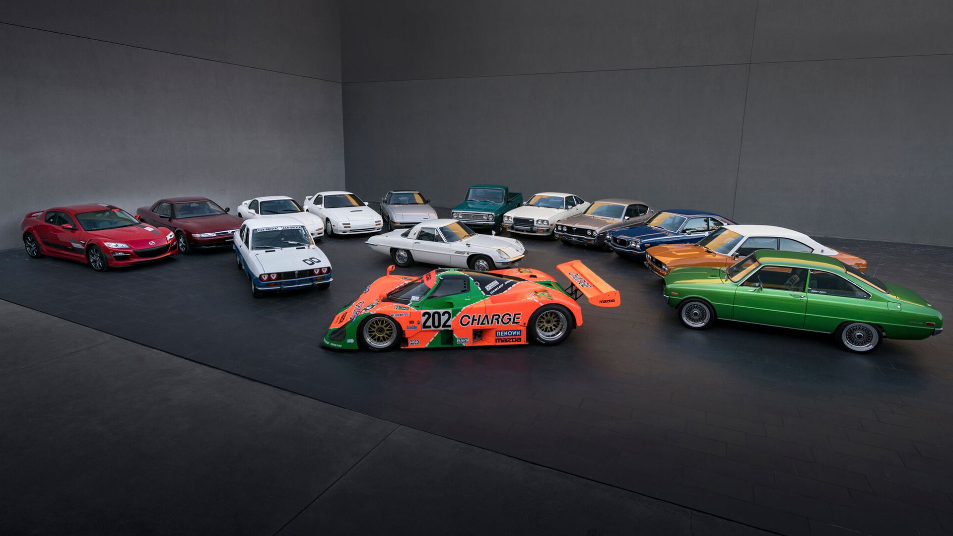 50 years of Mazda rotary cars
