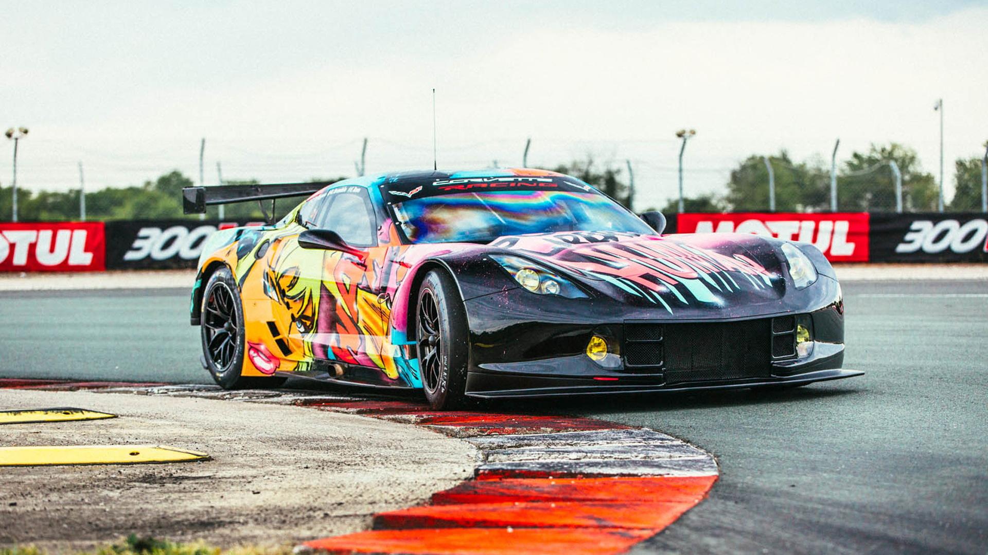 2017 Larbre Chevrolet Corvette C7.R race car