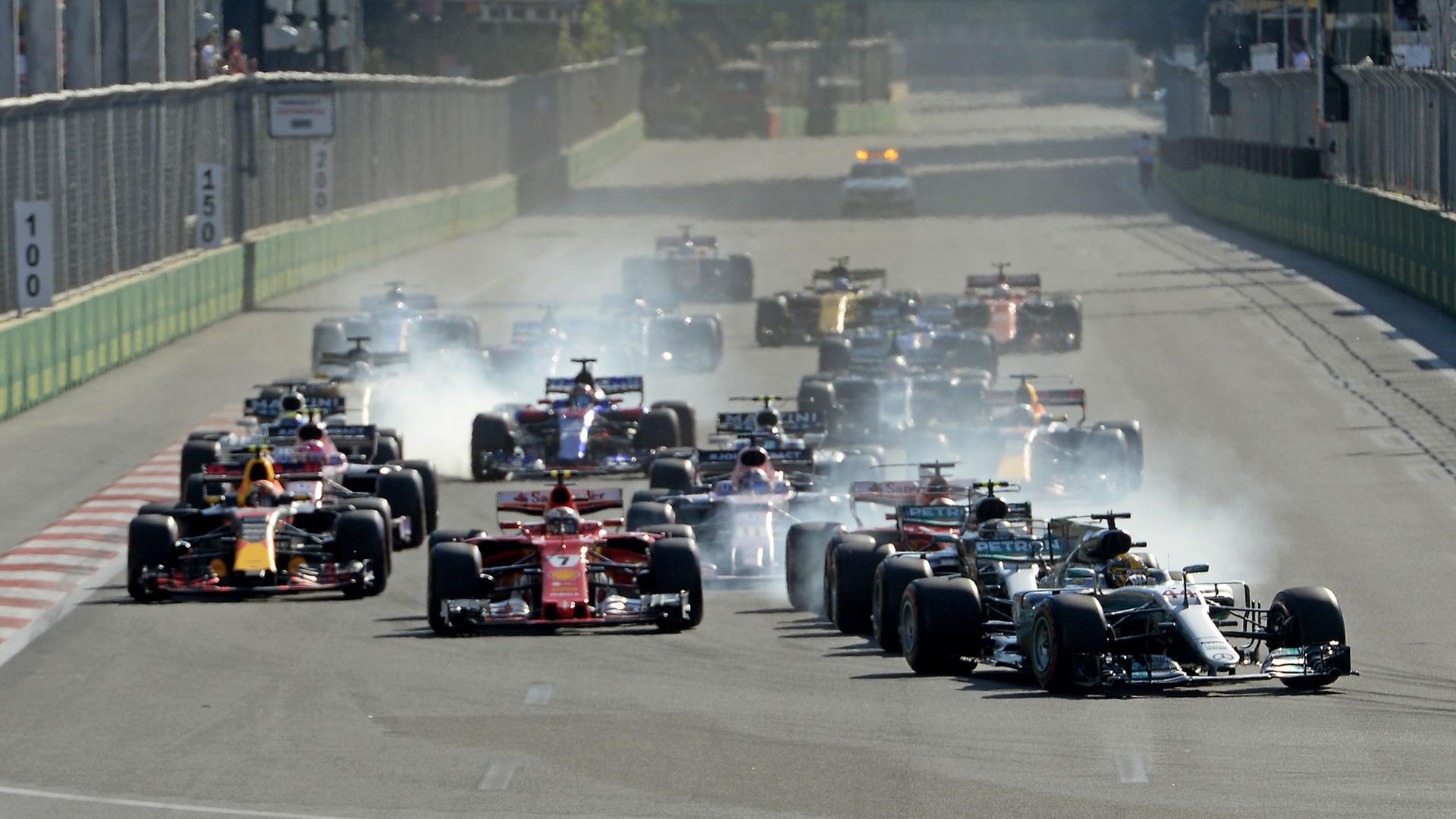 2017 Formula One Azerbaijan Grand Prix