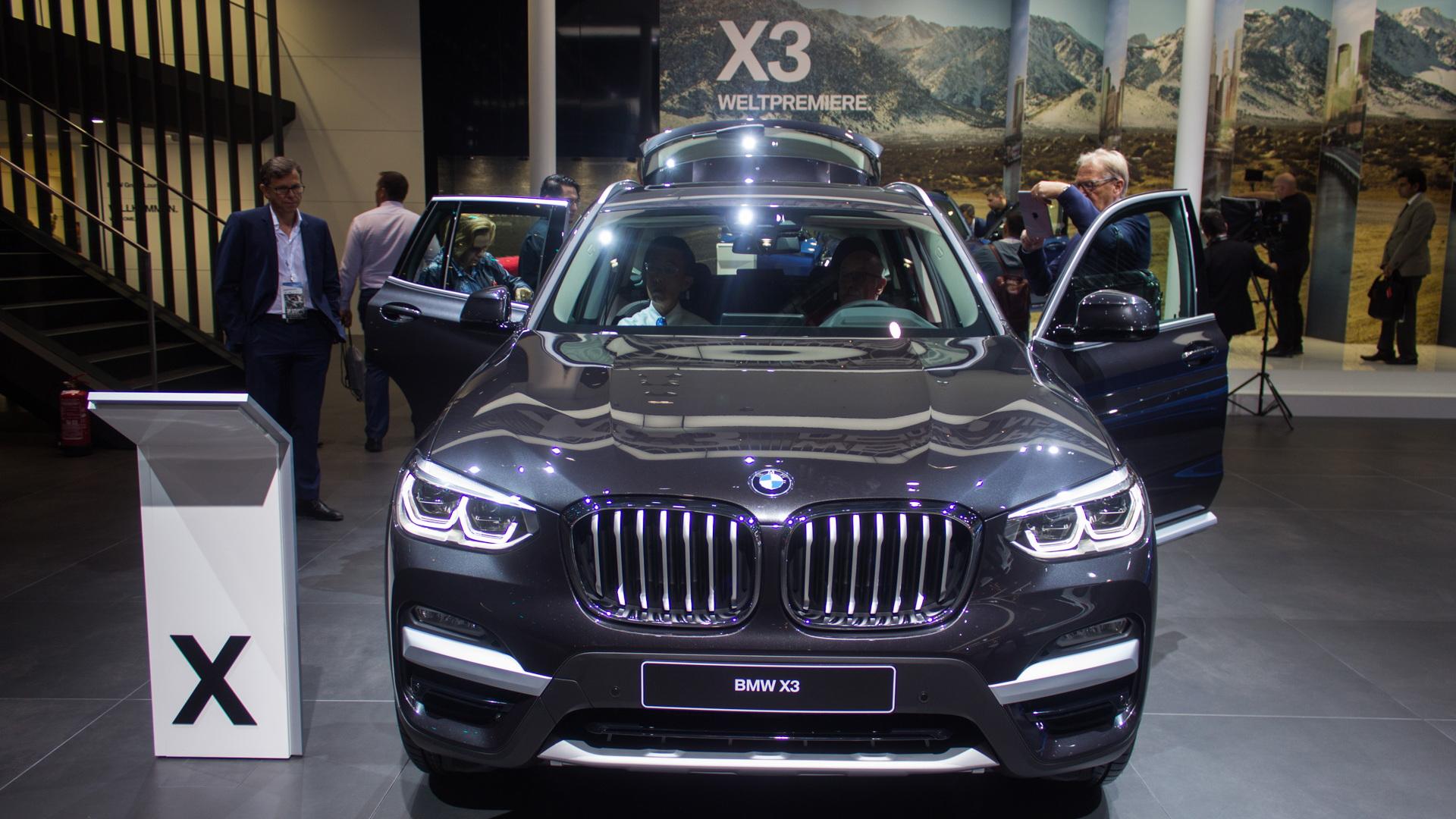 2018 BMW X3: Redesign, Platform, Changes >> 2018 Bmw X3 Preview