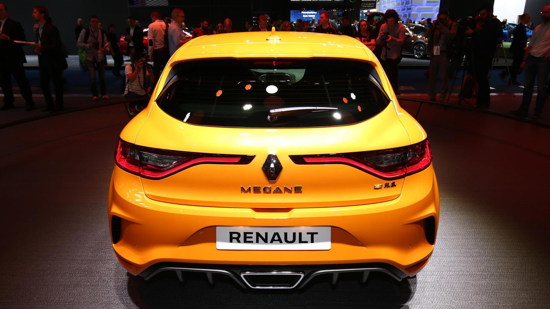 2018 Renault Mégane RS, 2017 Frankfurt Motor Show