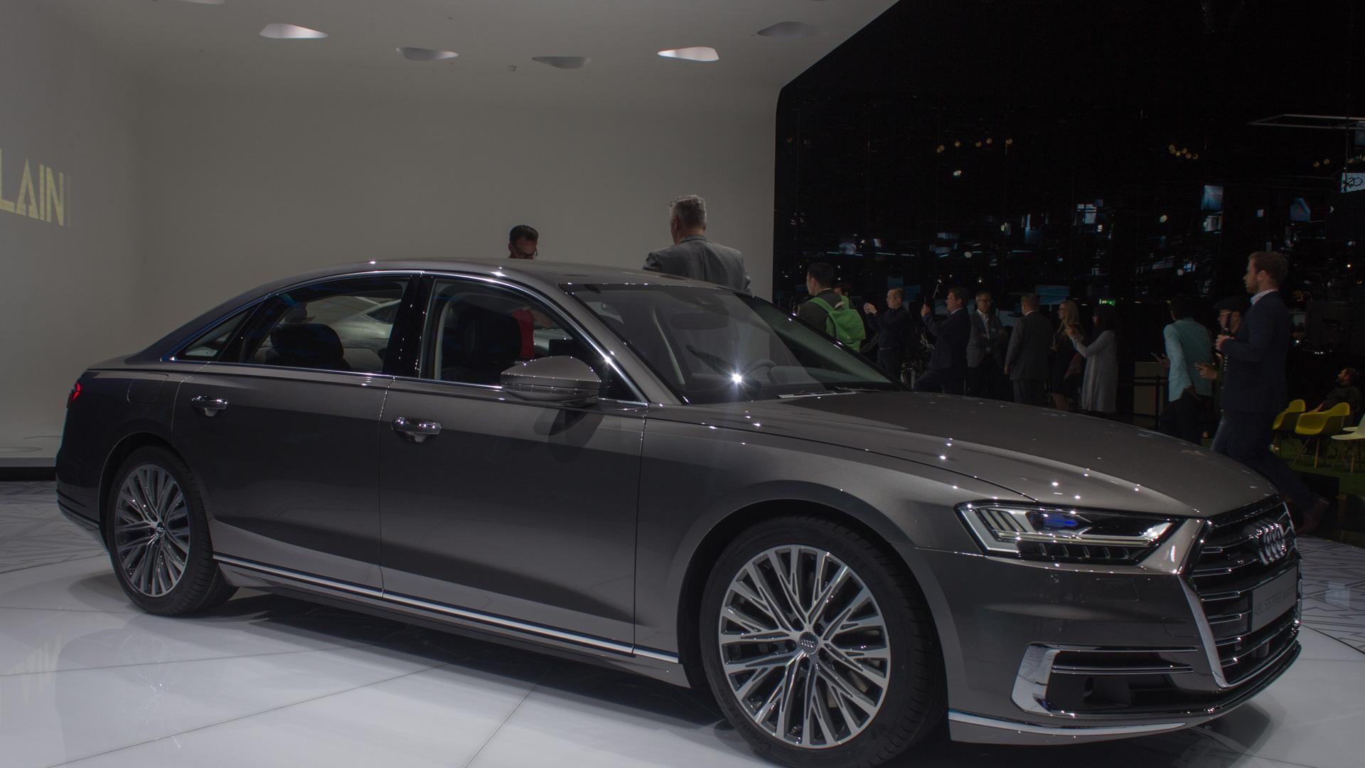 2019 Audi A8, 2017 Frankfurt auto show