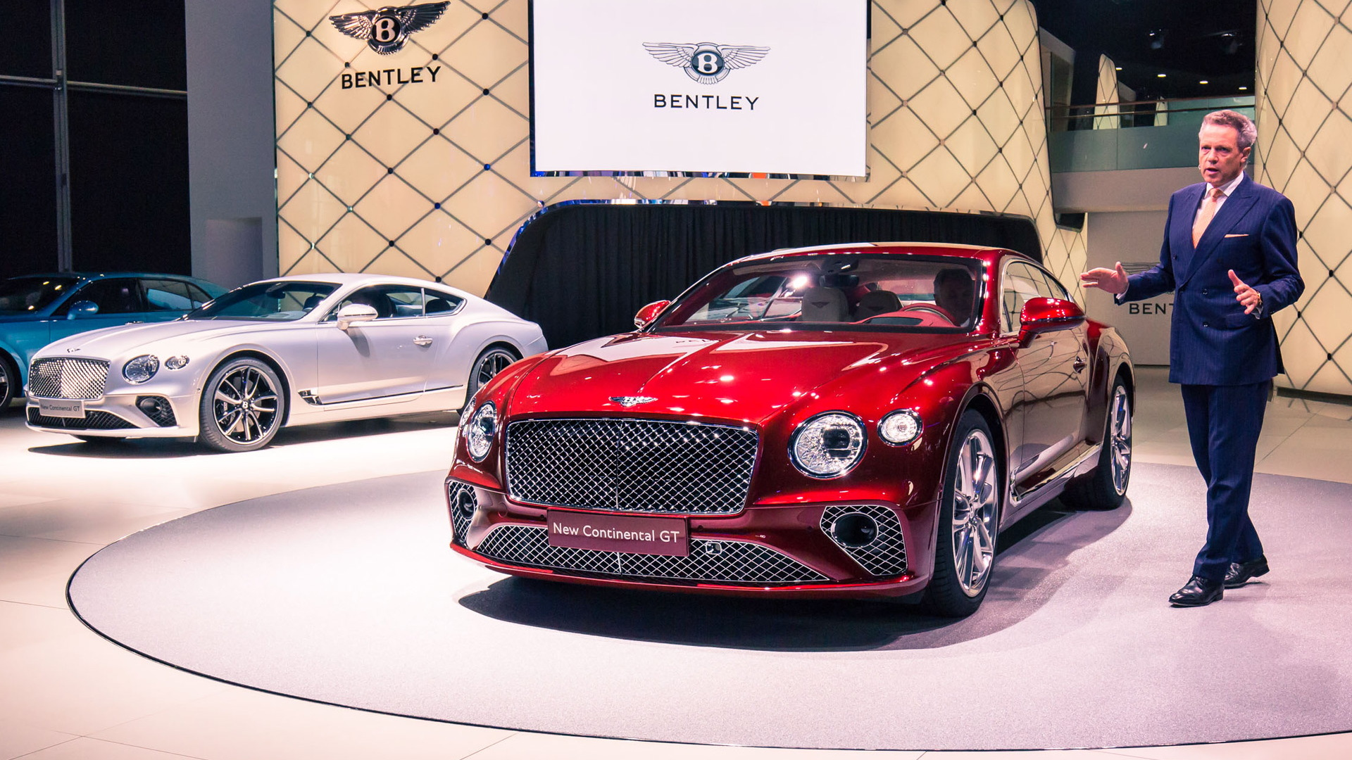 2018 bentley continental gt arrives with more beauty and power
