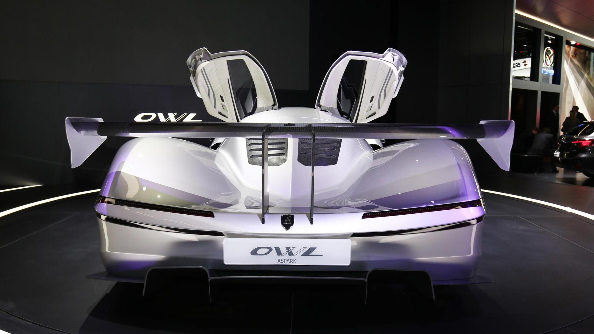 Aspark Owl concept, 2017 Frankfurt Motor Show