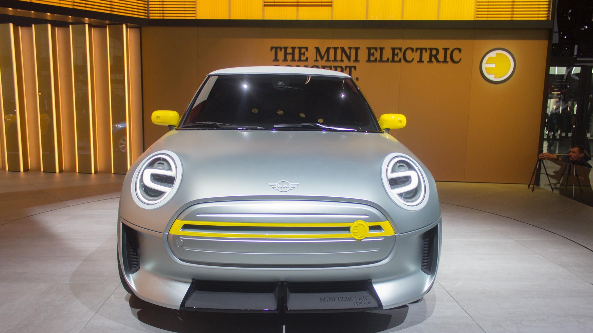 Mini Electric Concept, 2017 Frankfurt Motor Show