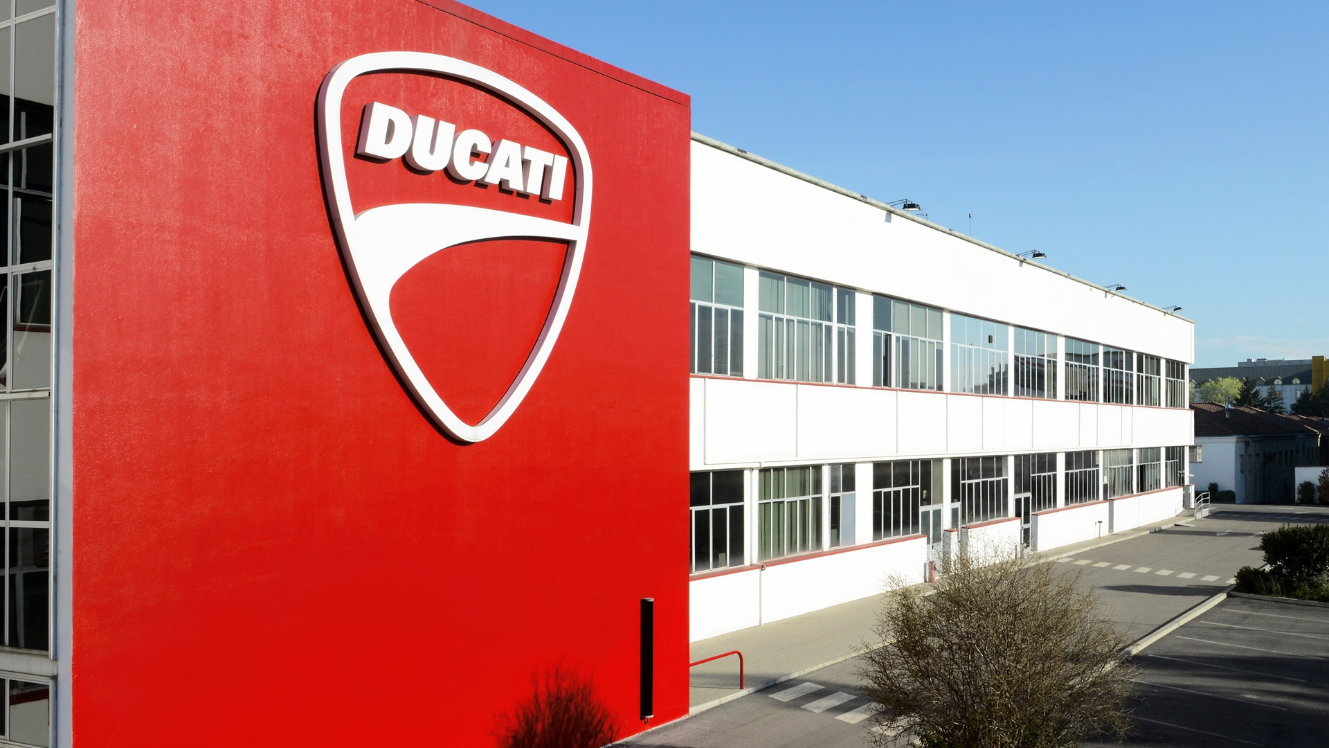 Ducati headquarters in Bologna, Italy