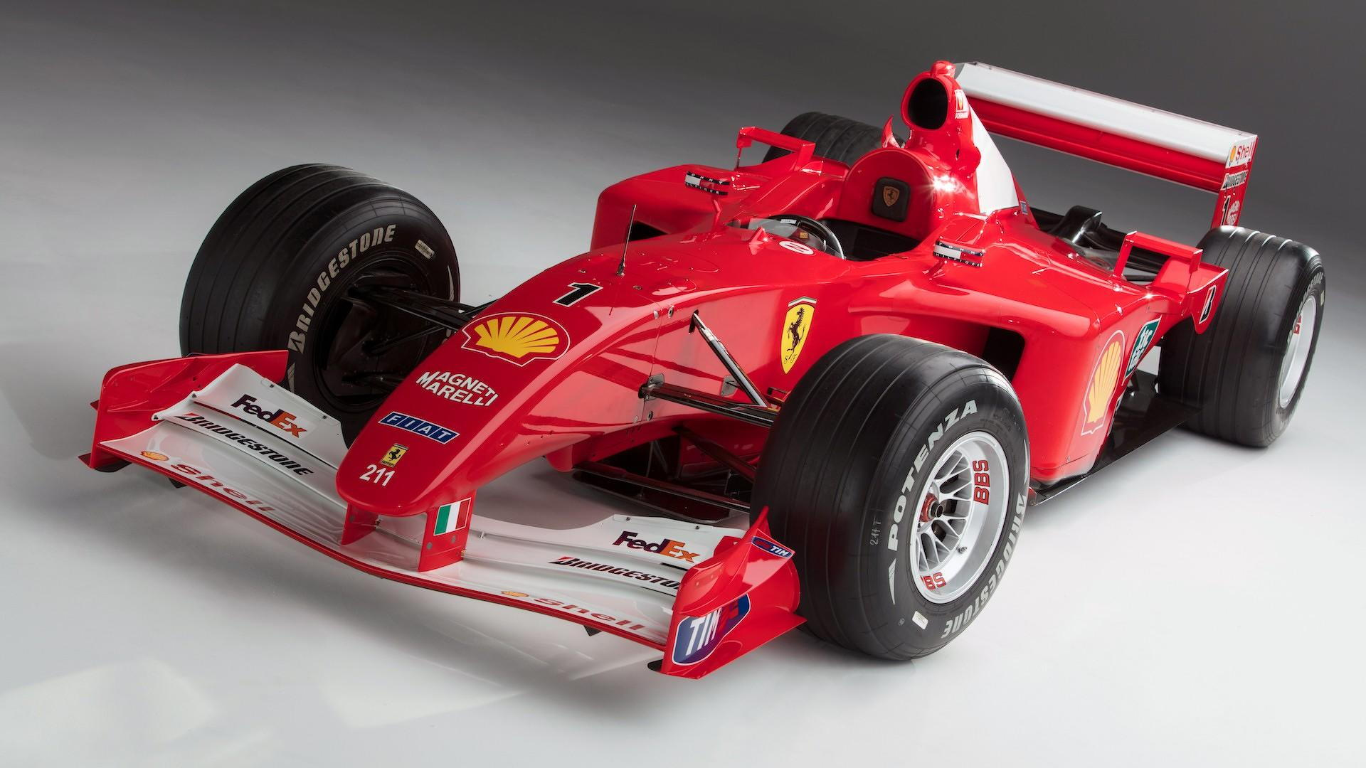 Ex Schumacher Ferrari F1 Car Sells For Record 7 5m