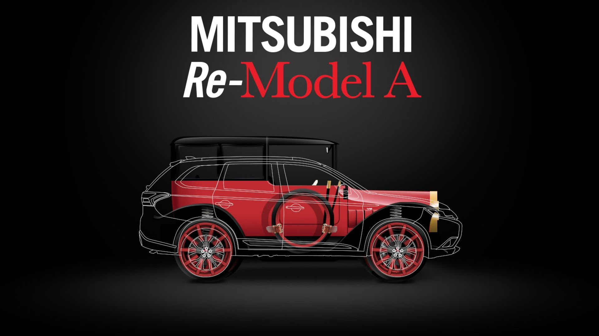 Mitsubishi Re-Model A centennial project