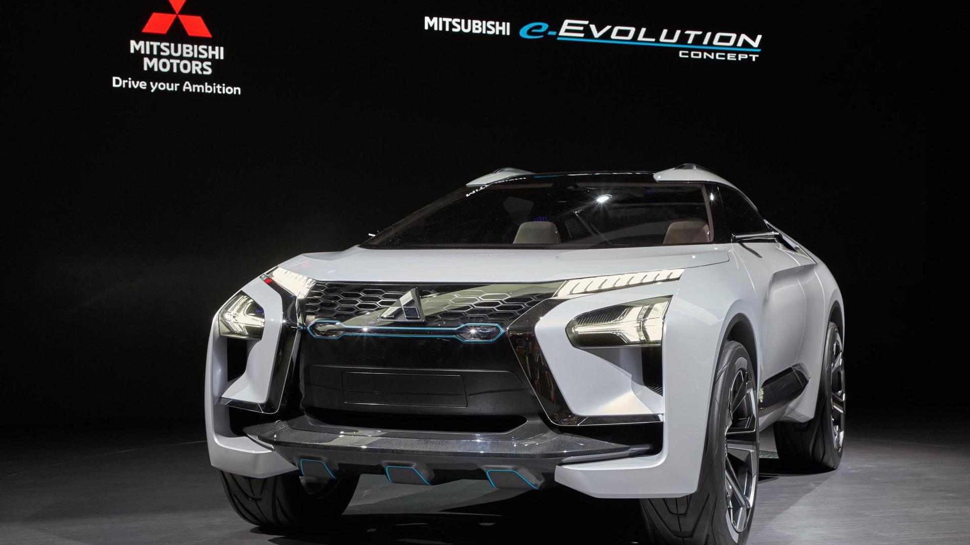 Mitsubishi e-Evolution concept, 2017 Tokyo Motor Show