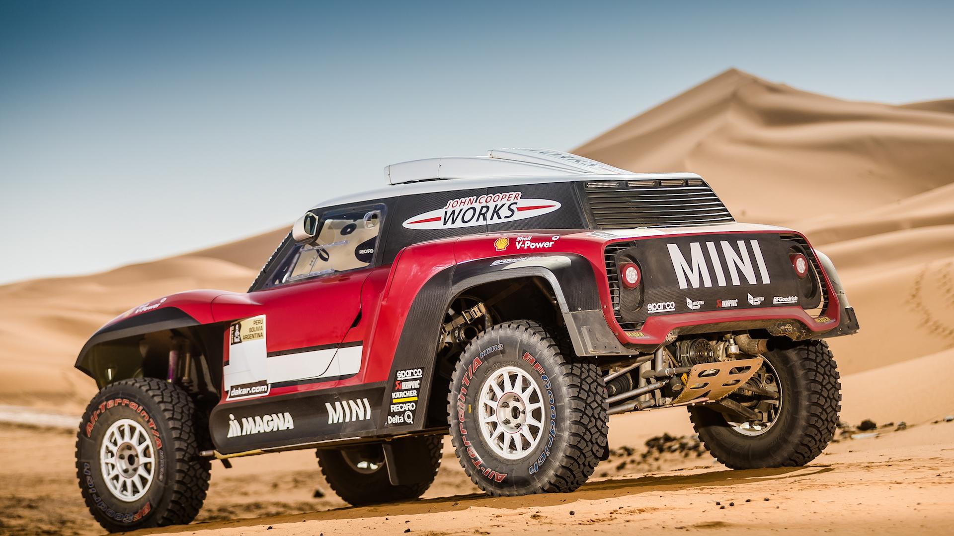Mini John Cooper Works Buggy for 2018 Dakar Rally
