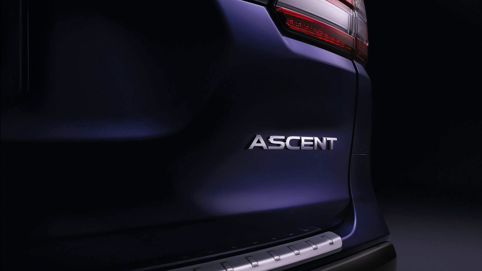 Teaser for 2019 Subaru Ascent debuting at 2017 Los Angeles Auto Show