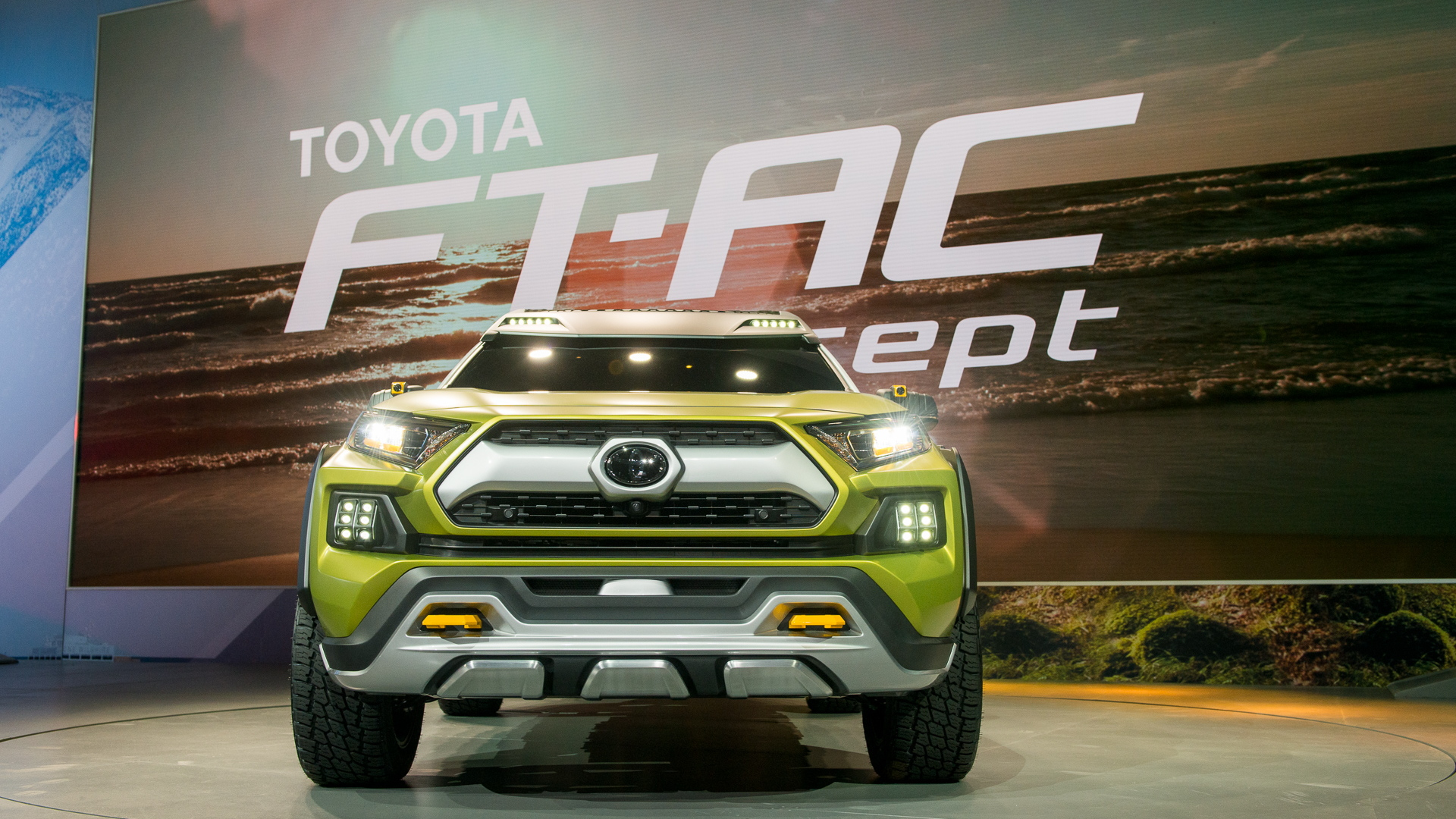 Toyota FT-AC Concept, 2017 Los Angeles Auto Show