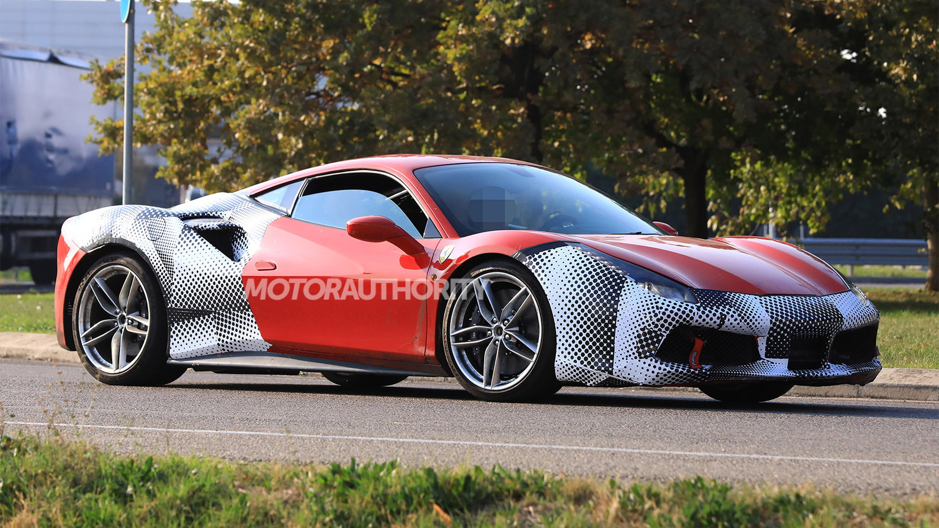 2019 Ferrari 488 GTO spy shots and video