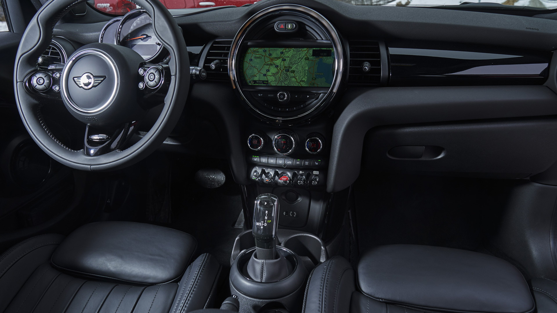 Mini's 7-speed dual-clutch transmission