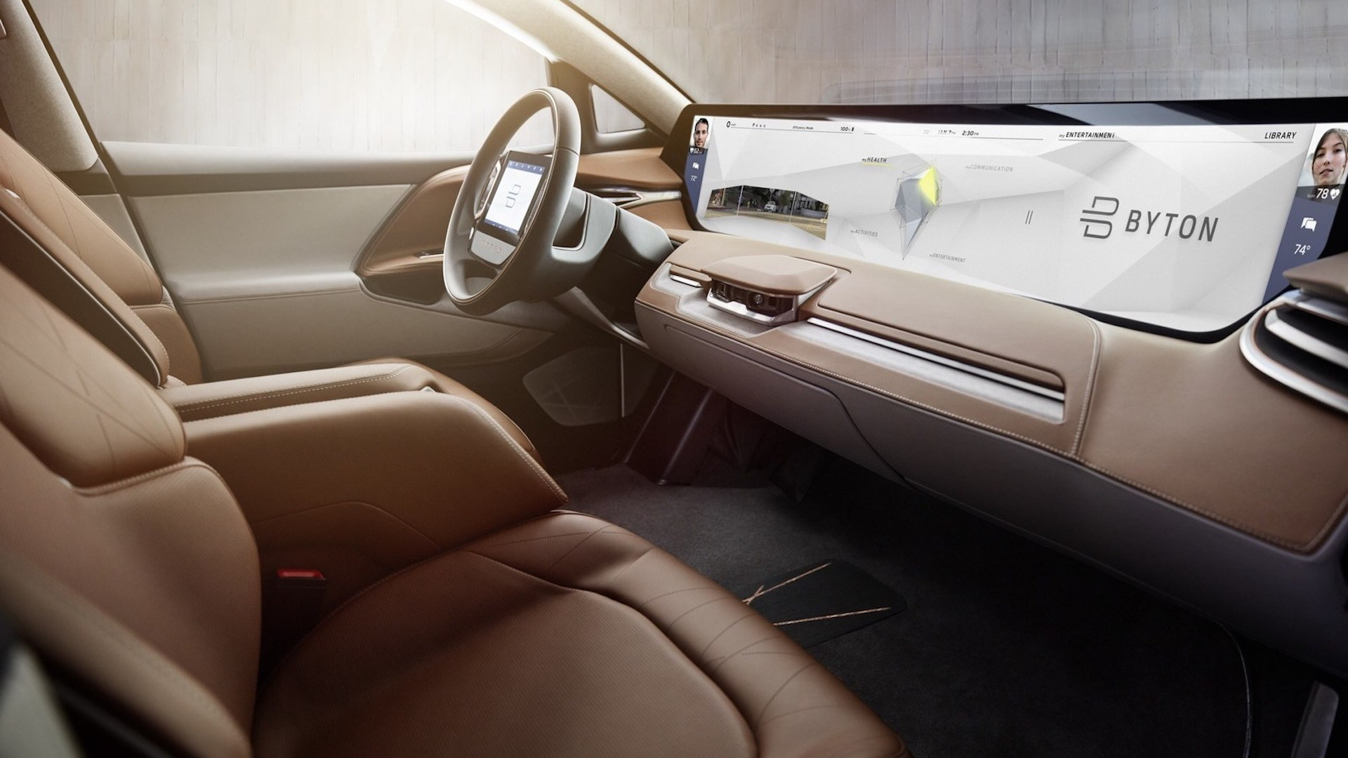 Byton concept, 2018 Consumer Electronics Show