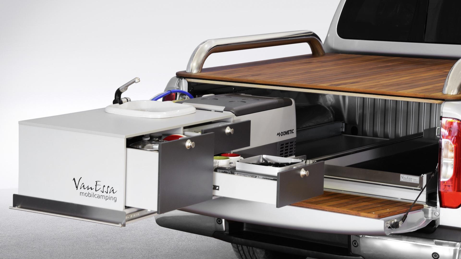 Mercedes-Benz X-Class camper concept