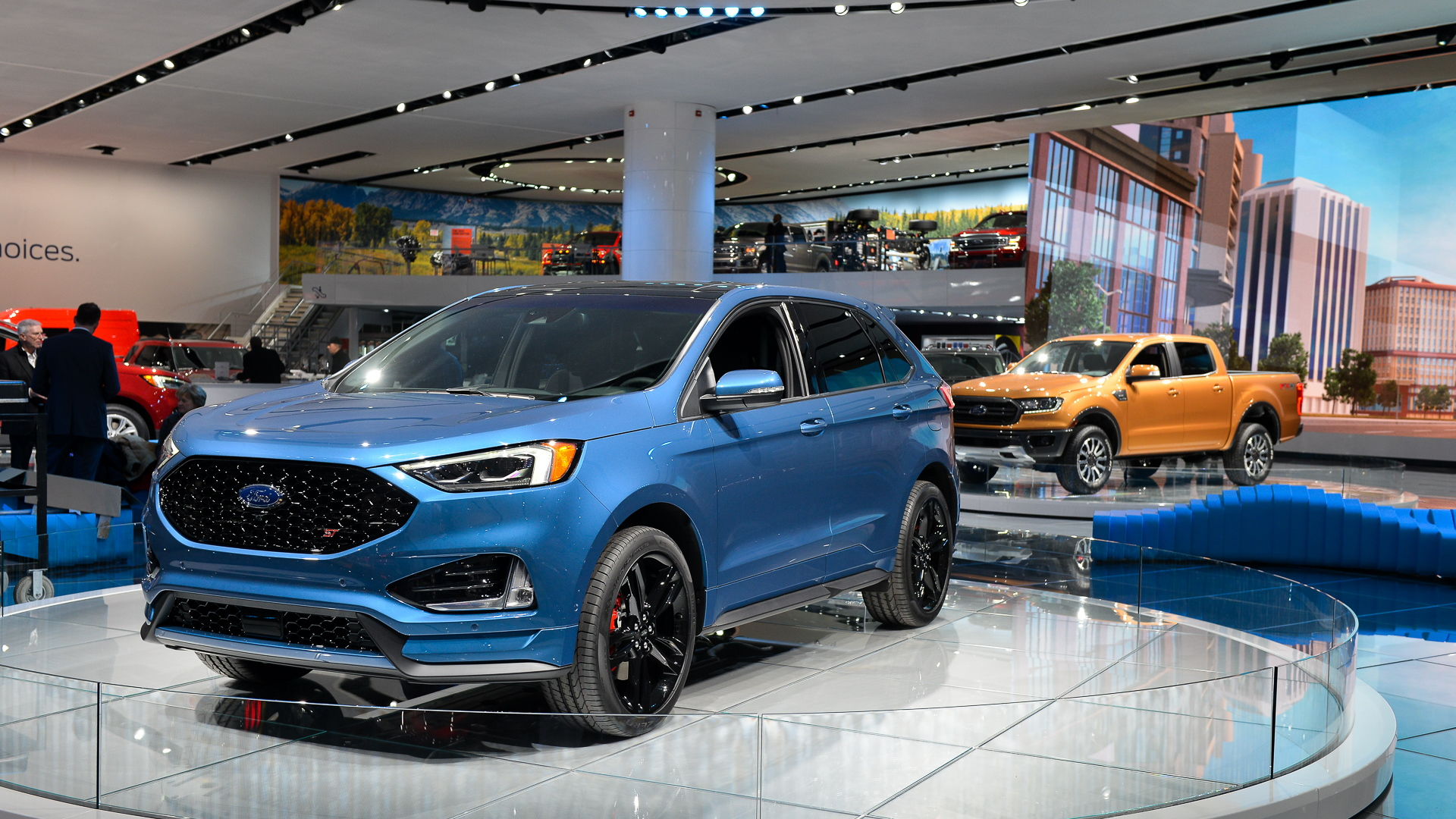 2019 Ford Edge ST, 2018 Detroit auto show